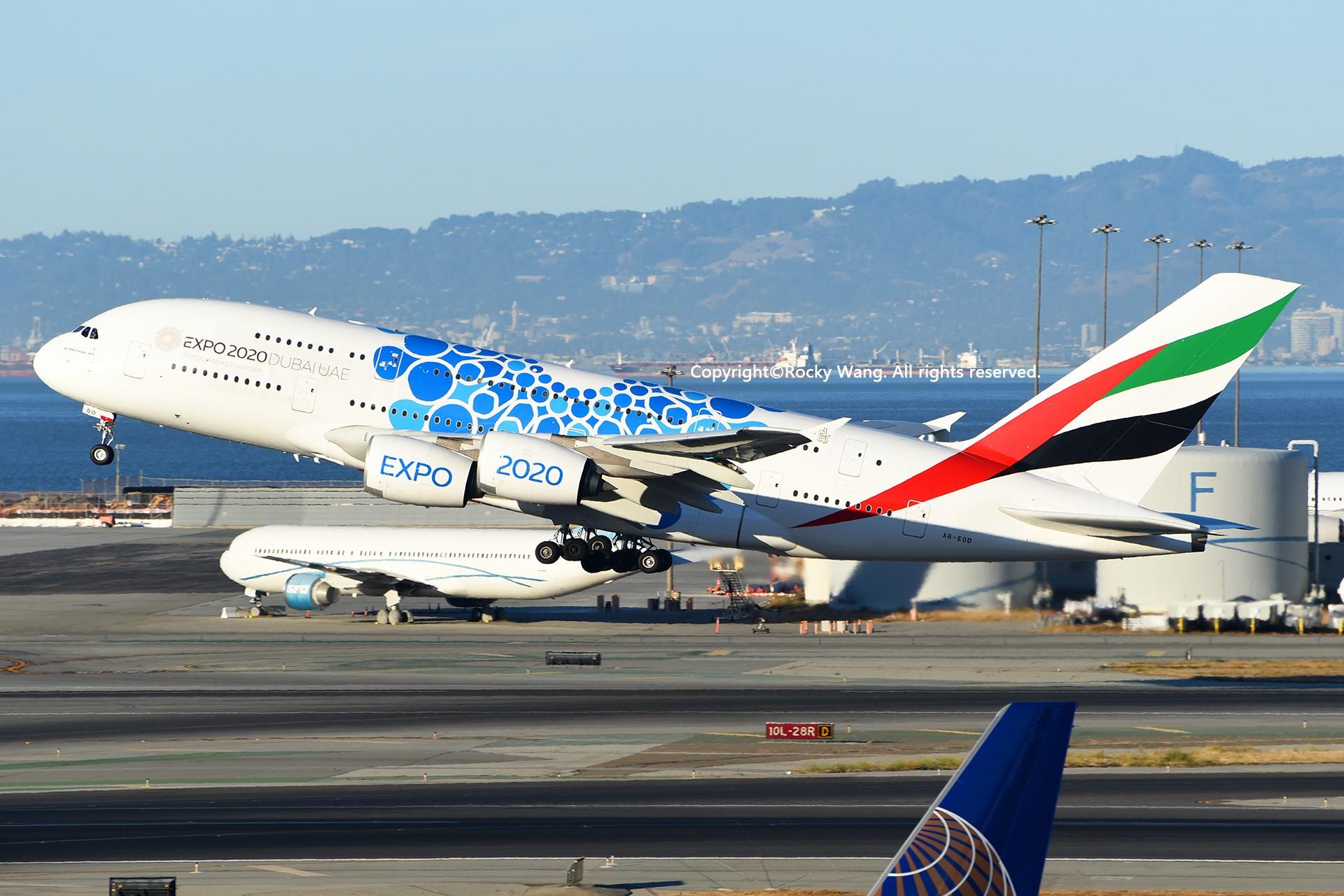 Re:[原创]彩绘圣地-附加彩蛋 AIRBUS A380-861 A6-EOD San Francisco Int'l Airport
