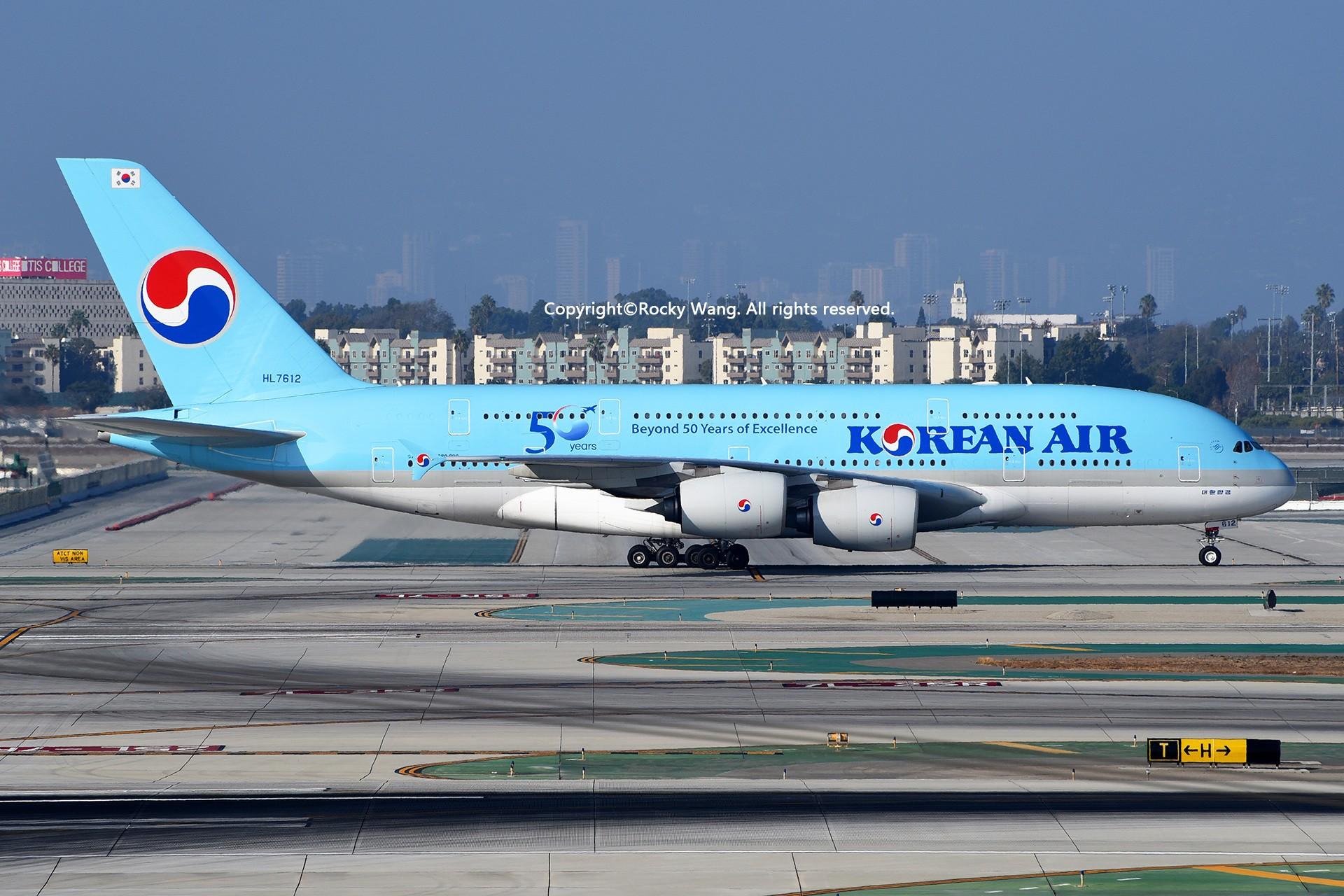 Re:[原创]彩绘圣地-附加彩蛋 AIRBUS A380-861 HL7612 Los Angeles Int'l Airport