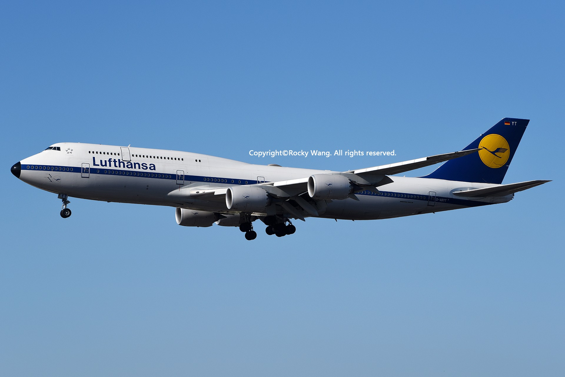 Re:彩绘圣地-附加彩蛋 BOEING 747-830 D-ABYT Los Angeles Int'l Airport