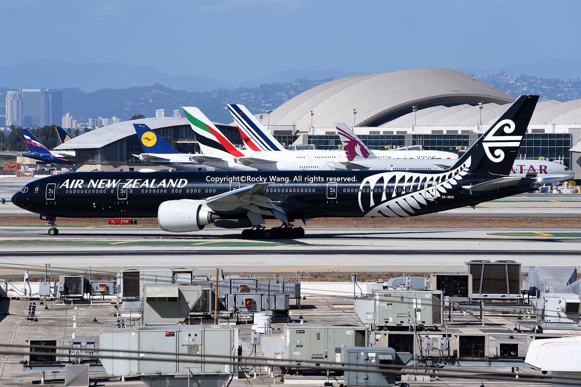 Re:[原创]彩绘圣地-附加彩蛋 BOEING 777-319ER ZK-OKQ Los Angeles Int'l Airport
