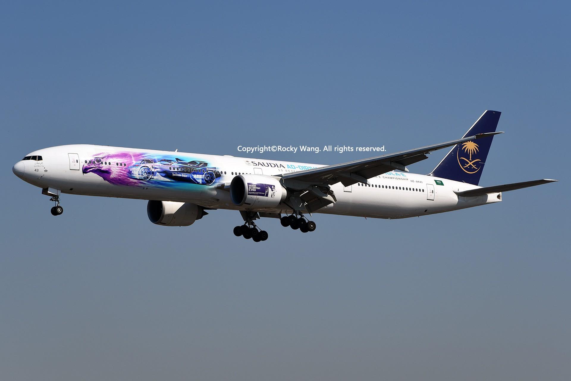 Re:[原创]彩绘圣地-附加彩蛋 BOEING 777-368ER HZ-AK43 Los Angeles Int'l Airport