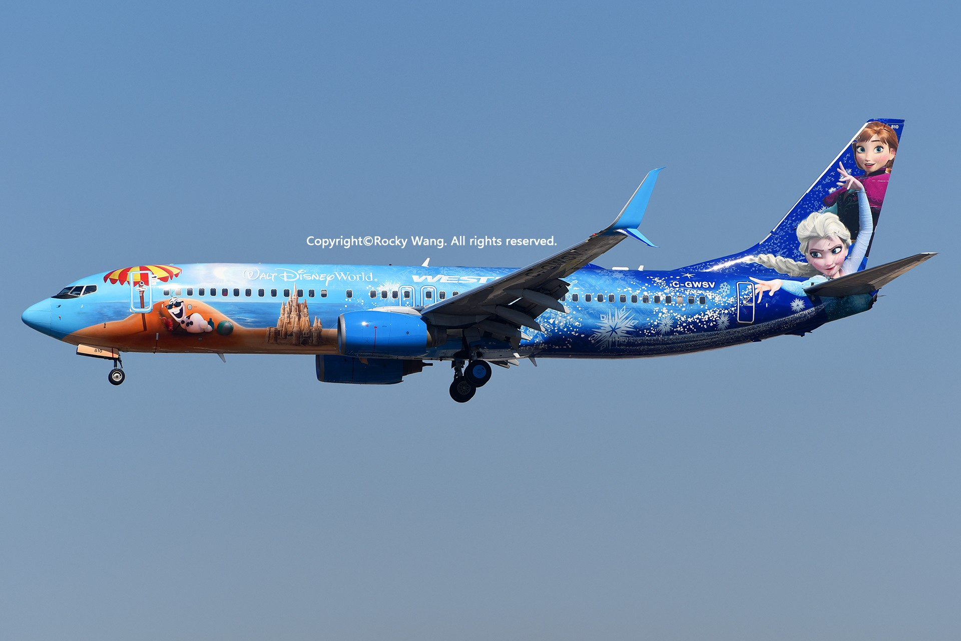 Re:[原创]彩绘圣地-附加彩蛋 BOEING 737-8CT C-GWSV Los Angeles Int'l Airport