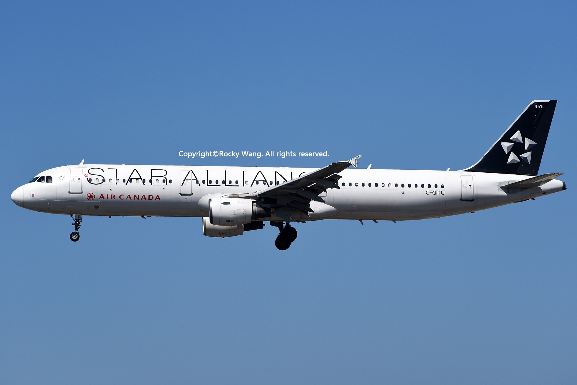 Re:[原创]彩绘圣地-附加彩蛋 AIRBUS A321-211 C-GITU Los Angeles Int'l Airport