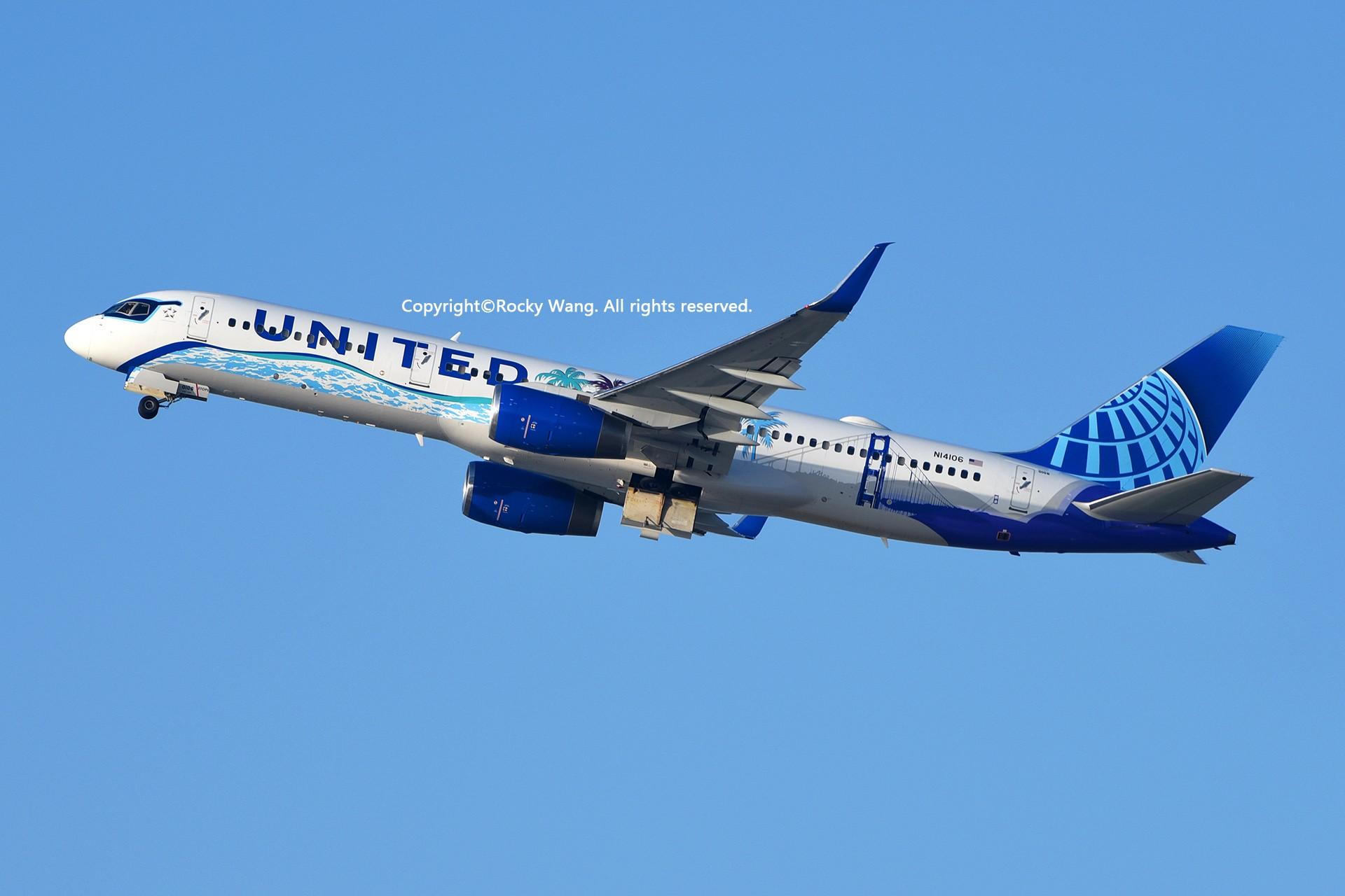 Re:[原创]彩绘圣地-附加彩蛋 BOEING 757-224 N14106 Los Angeles Int'l Airport