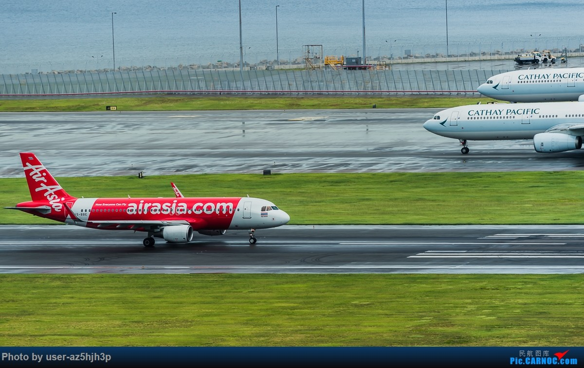 [原创]亚航飞机几架 AIRBUS A320 HS-BBE 香港国际机场
