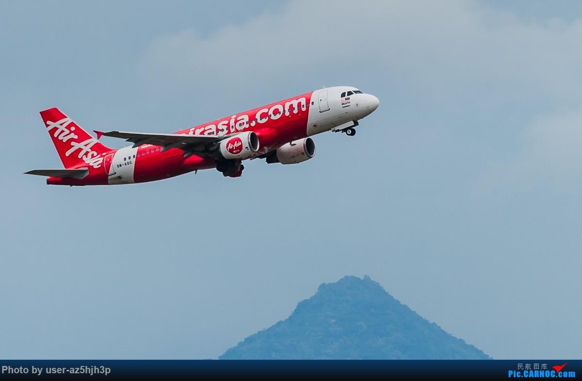 Re:[原创]亚航飞机几架 AIRBUS A320 SM-AOC 香港国际机场