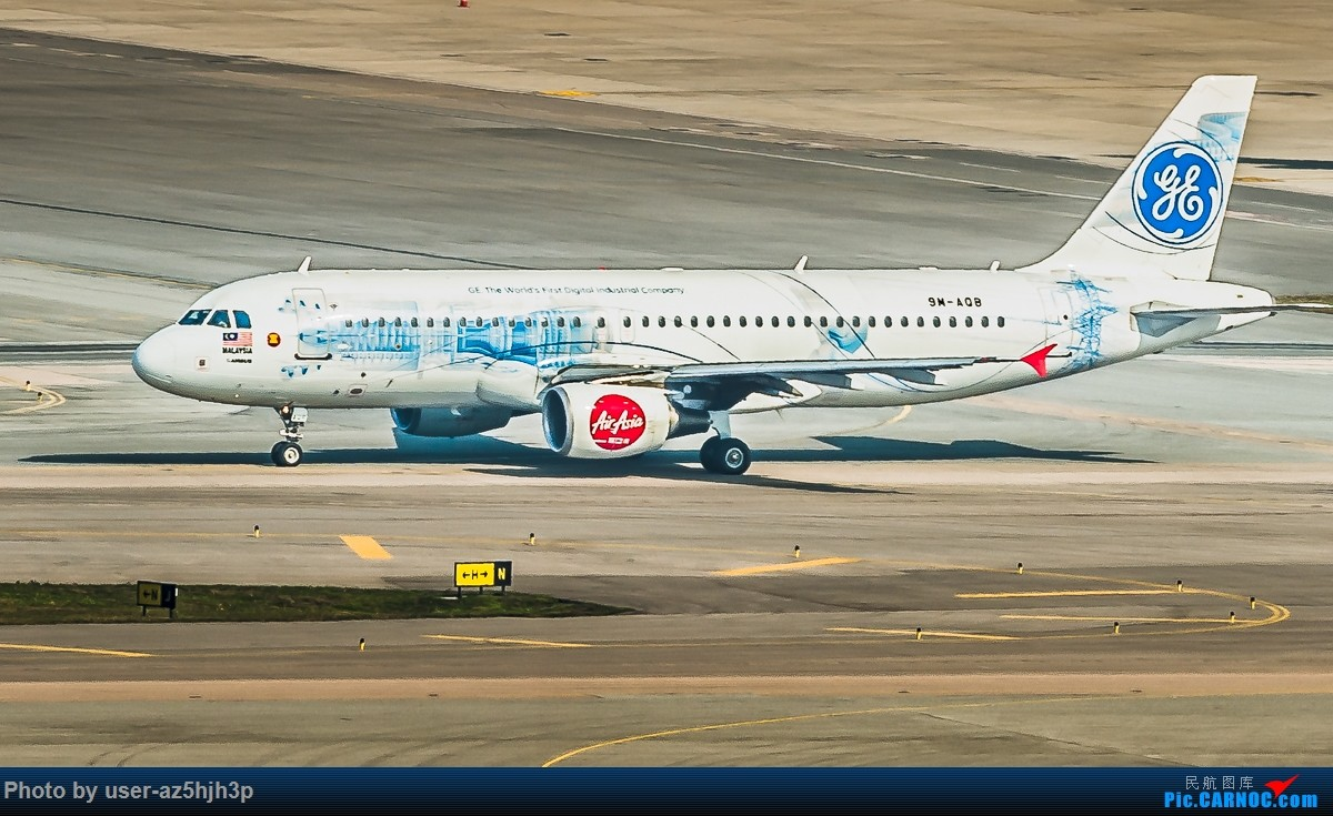 Re:[原创]亚航飞机几架 AIRBUS A320 9M-AQB 香港国际机场
