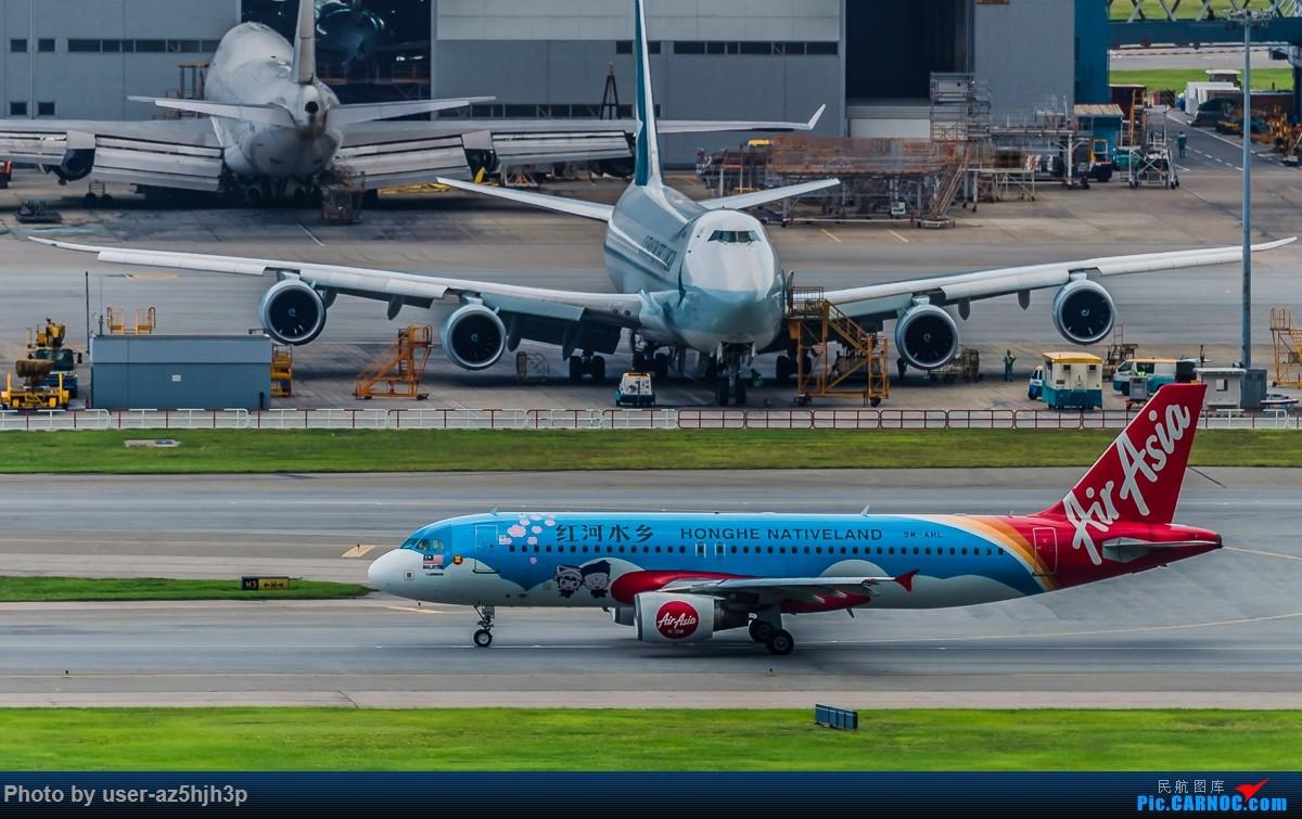 Re:[原创]亚航飞机几架 AIRBUS A320 9M-AHL 香港国际机场