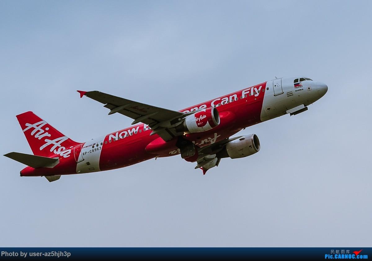 Re:[原创]亚航飞机几架 AIRBUS A320 RP-C8963 香港国际机场