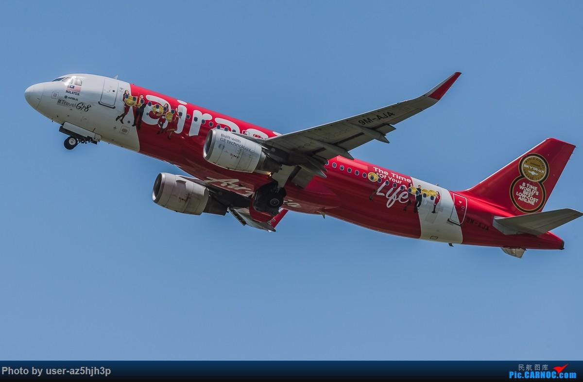 Re:[原创]亚航飞机几架 AIRBUS A320 9M-AJA 香港国际机场