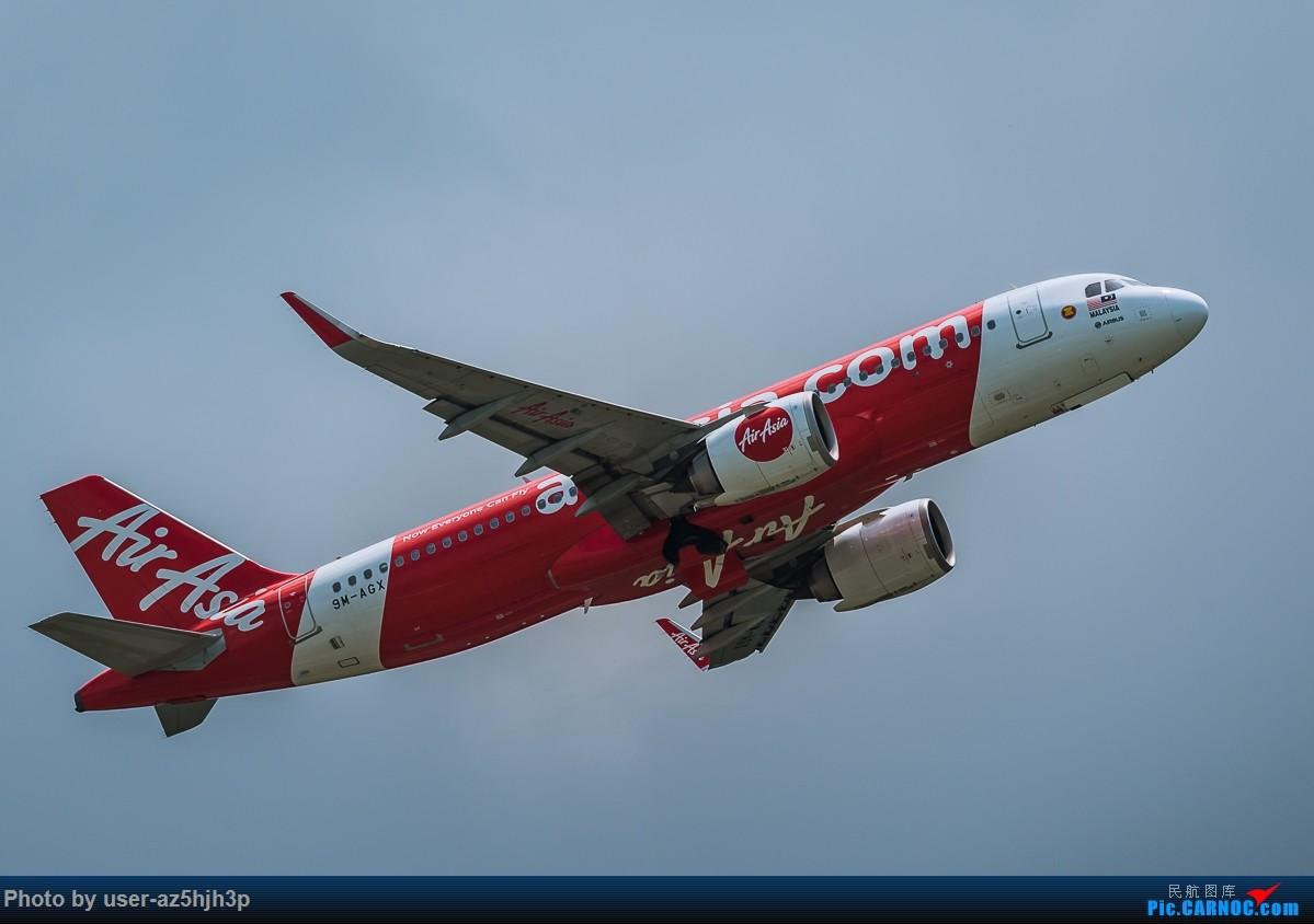 Re:[原创]亚航飞机几架 AIRBUS A320 9M-AGX 香港国际机场