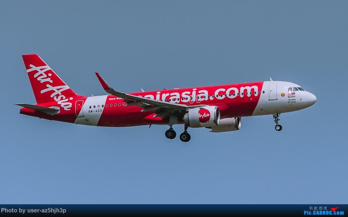 Re:[原创]亚航飞机几架 AIRBUS A320 9M-AGS 香港国际机场