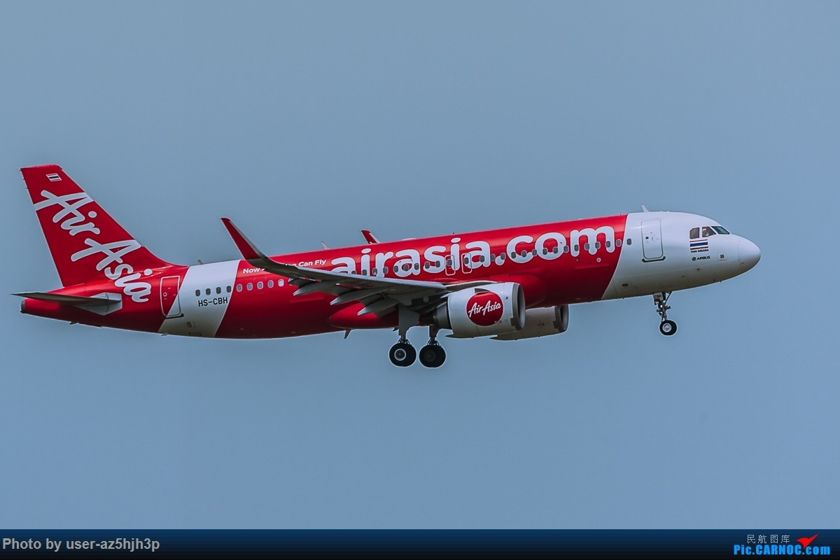 Re:[原创]亚航飞机几架 AIRBUS A320 HS-CBH 香港国际机场