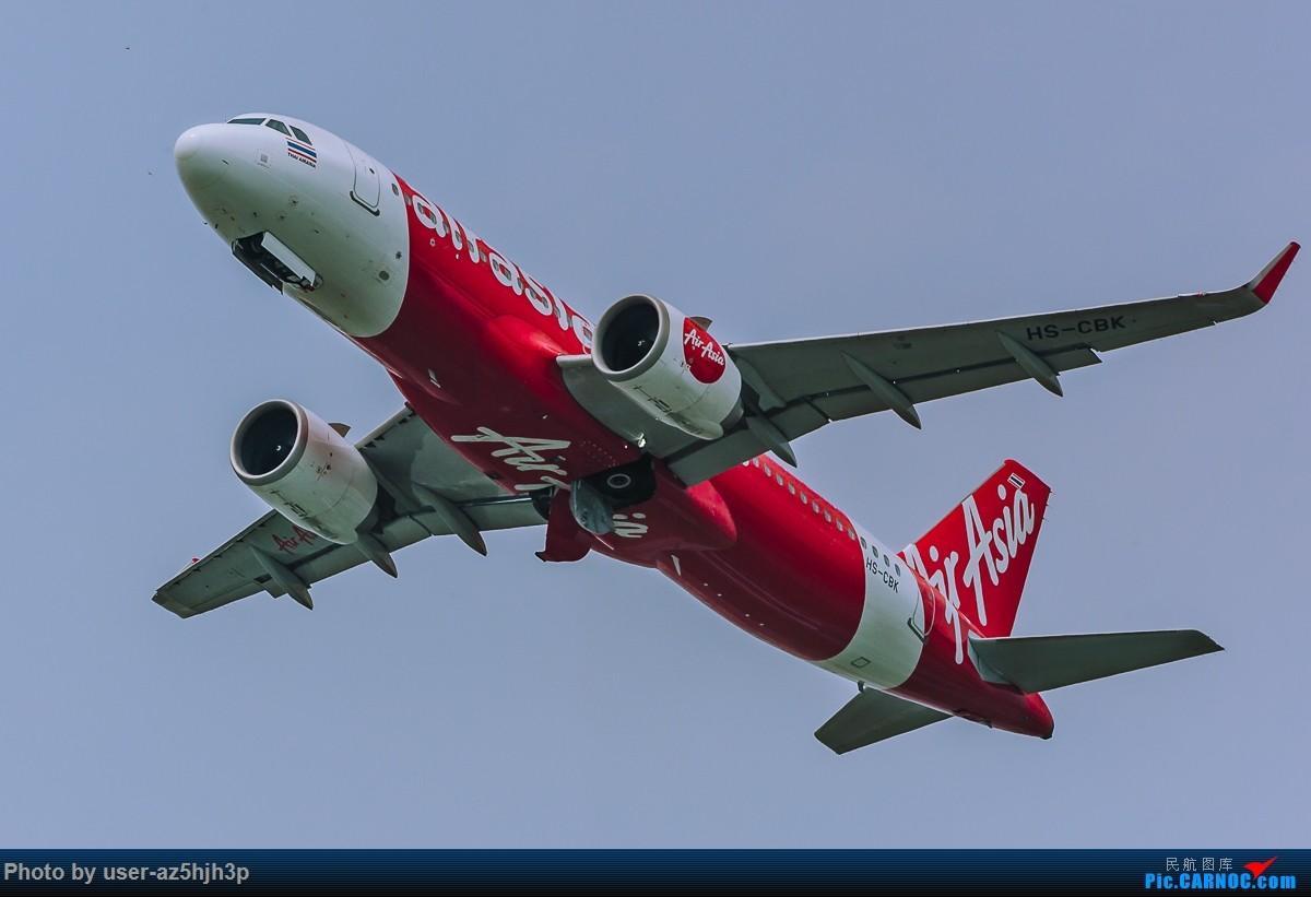 Re:[原创]亚航飞机几架 AIRBUS A320 HS-CBK 香港国际机场