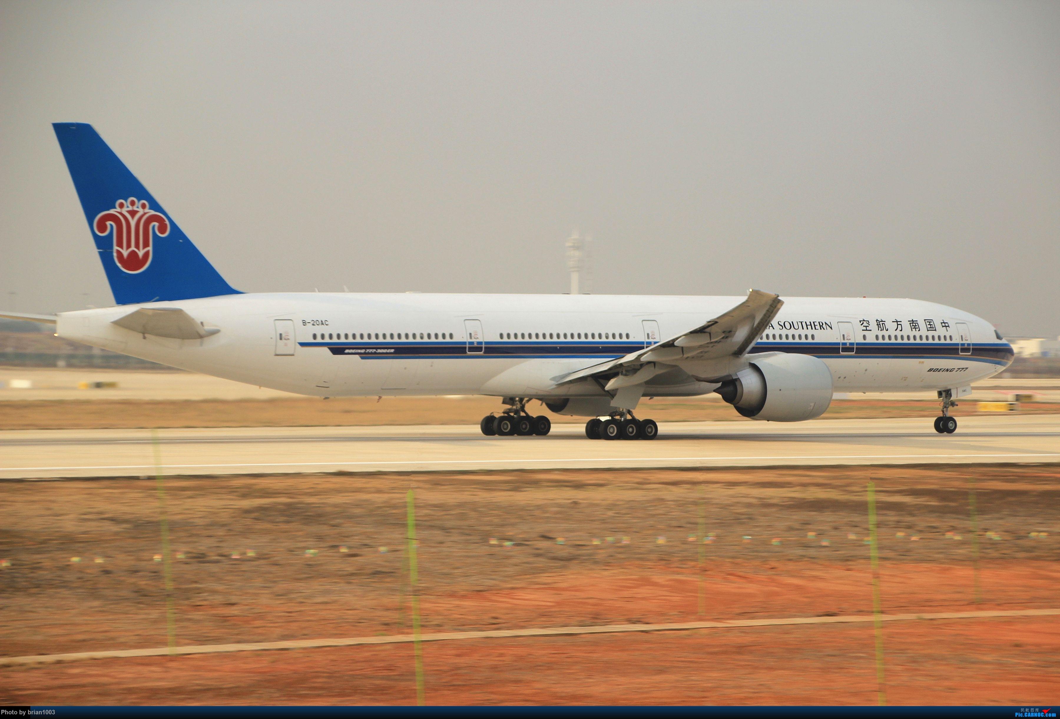 Re:[原创]WUH武汉天河机场拍机之新航季来的海航333、幸福738和南航77W(更新至11月23日) BOEING 777-300ER B-20AC 中国武汉天河国际机场