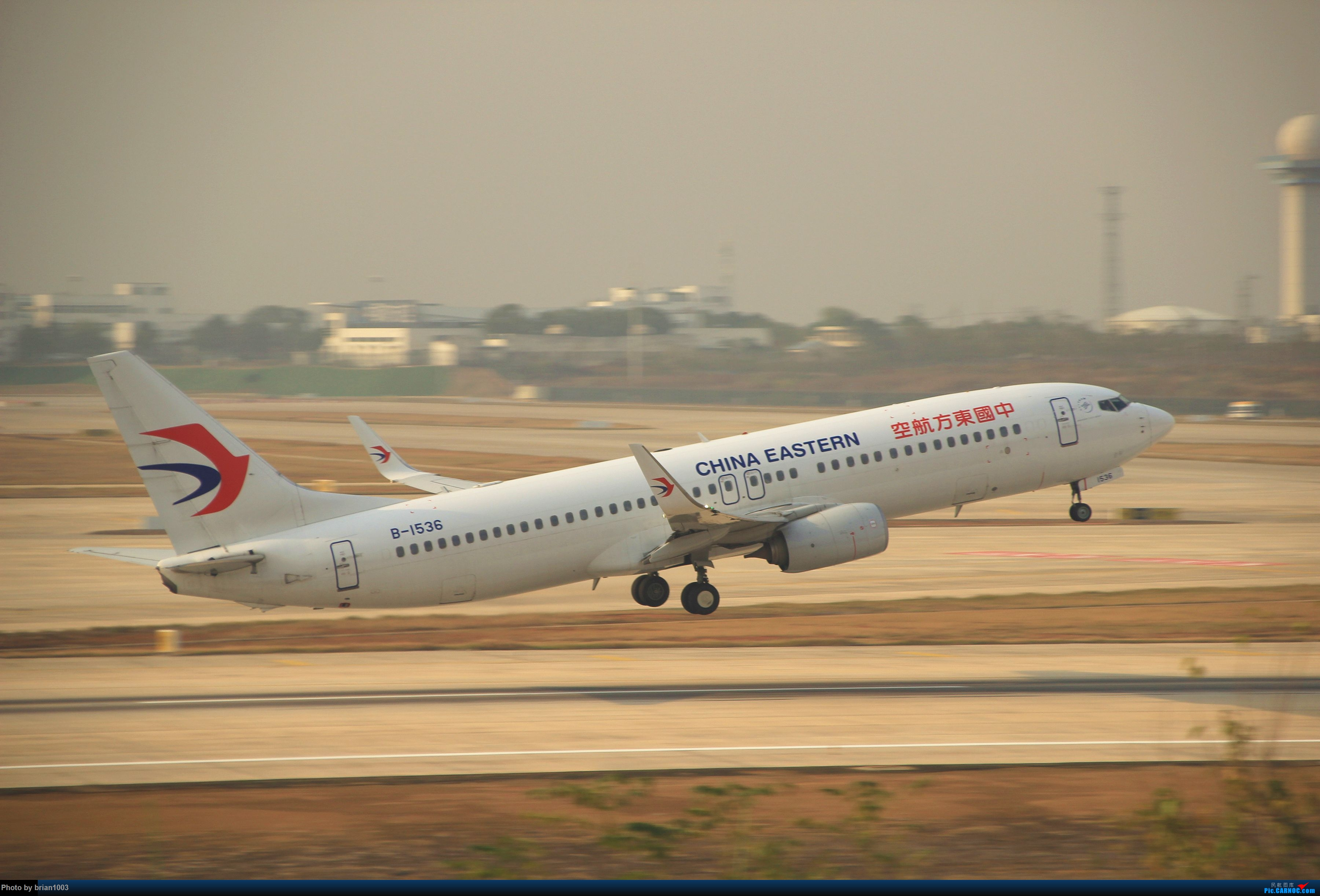 Re:[原创]WUH武汉天河机场拍机之新航季来的海航333、幸福738和南航77W(更新至11月23日) BOEING 737-800 B-1536 中国武汉天河国际机场