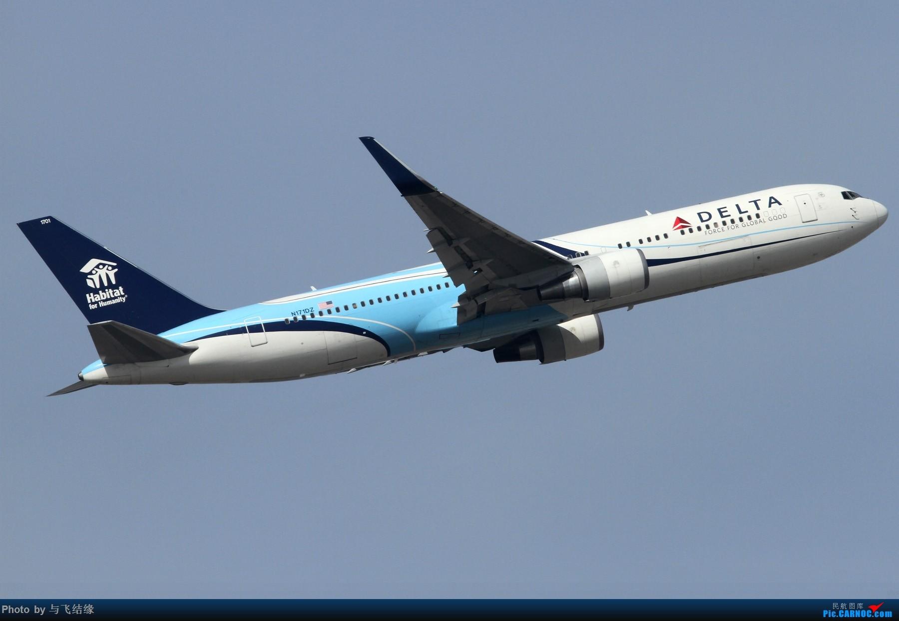 Re:[原创]老图两张! BOEING 767-300ER N171DZ 中国北京首都国际机场