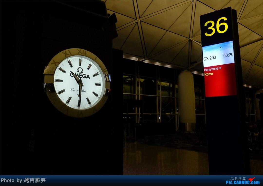 Re:[原创]多事之秋在地中海——国泰航空伴我行    中国香港国际机场