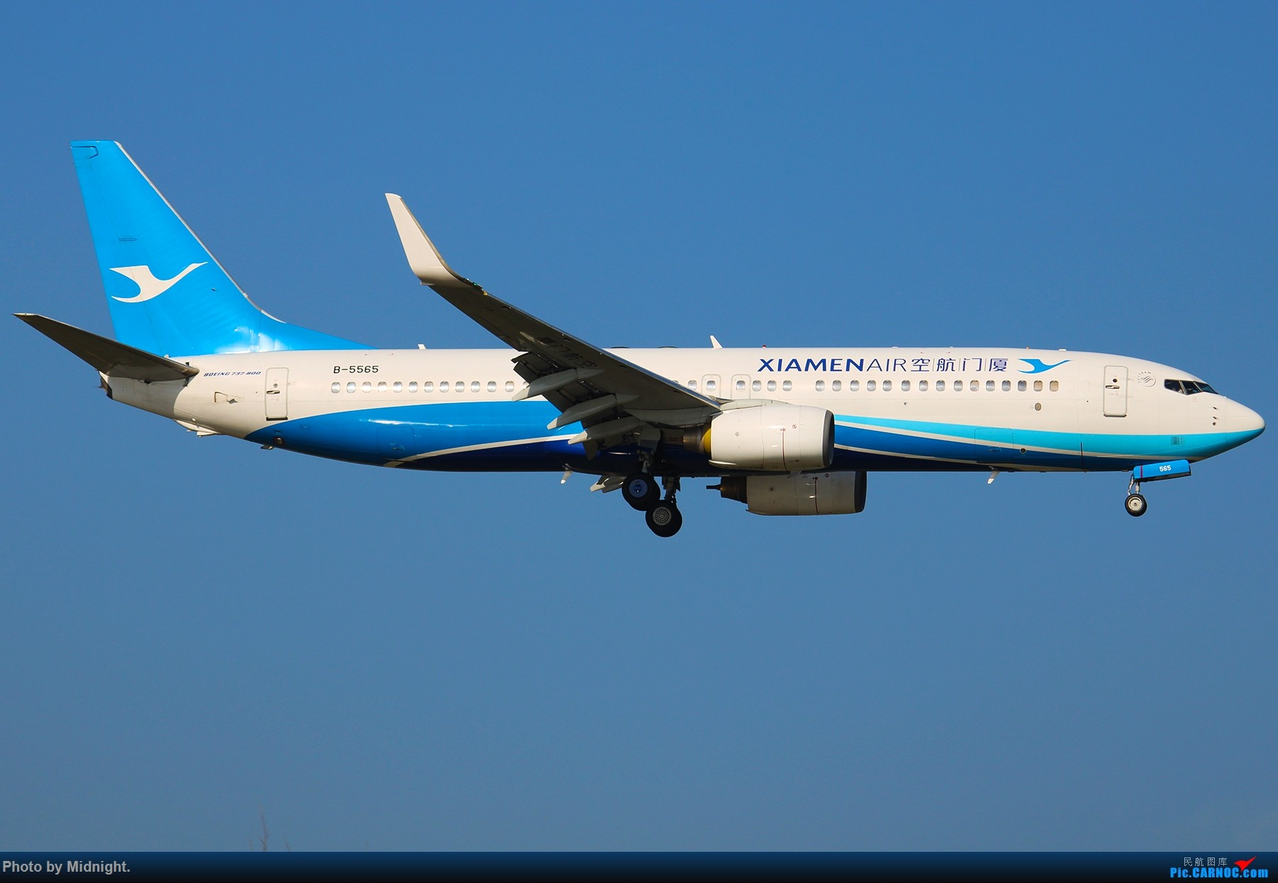 [原创]「全是大渣片」超冷门机场WUS BOEING 737-800 B-5565 中国武夷山机场
