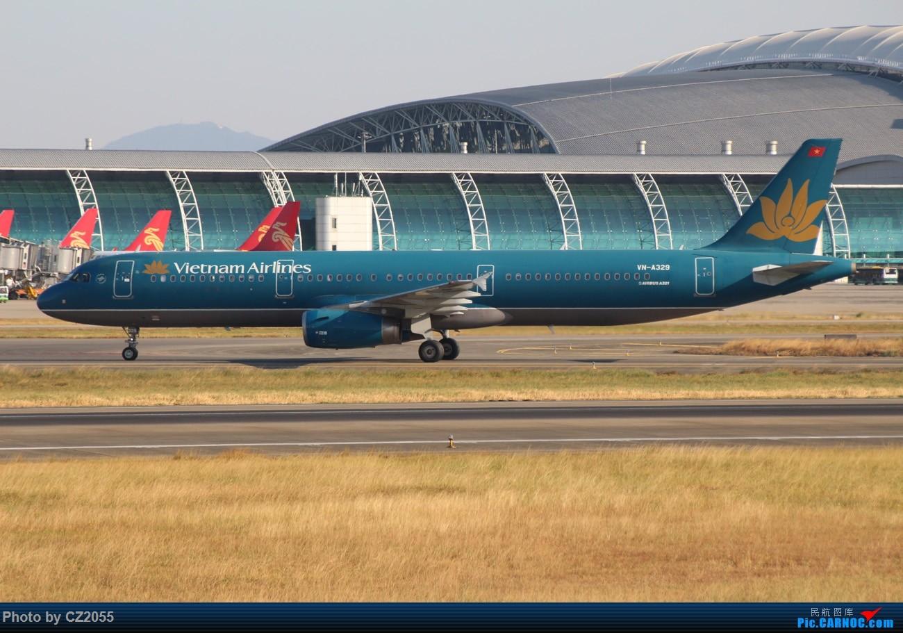 Re:[原创]【广东青少年拍机小队】【CZ2055】临时起意的拍机,大土堆打卡。 AIRBUS A321-200 VN-A329 中国广州白云国际机场