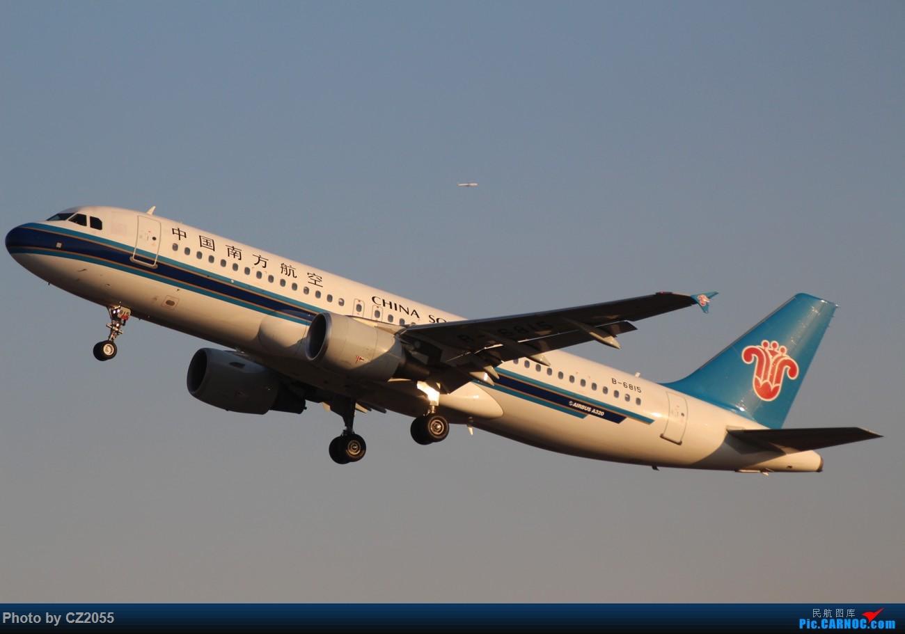 Re:[原创]【广东青少年拍机小队】【CZ2055】临时起意的拍机,大土堆打卡。 AIRBUS A320-200 B-6815 中国广州白云国际机场