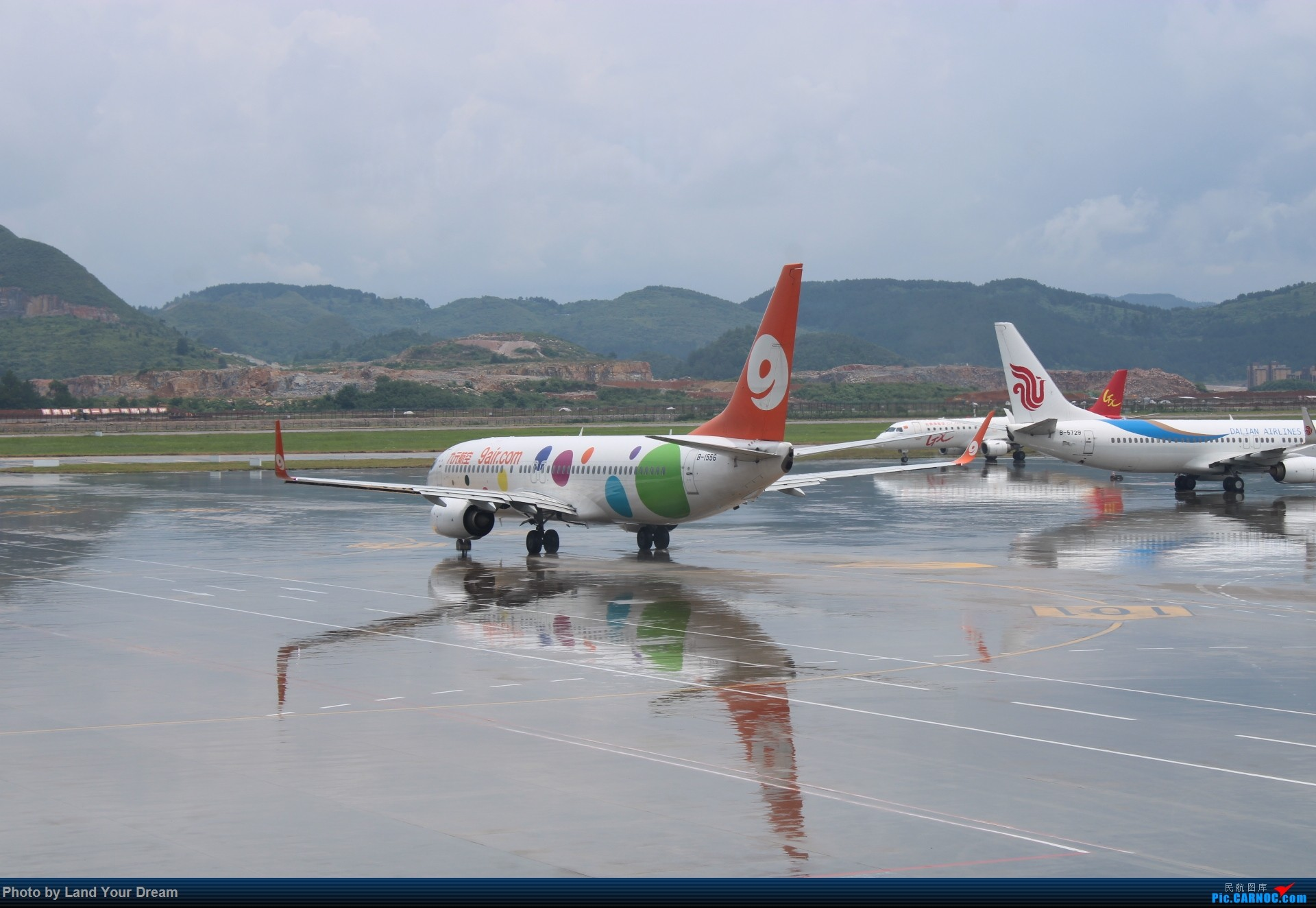 [原创]小雨初停贵阳拍机 BOEING 737-800 B-5717 中国贵阳龙洞堡国际机场
