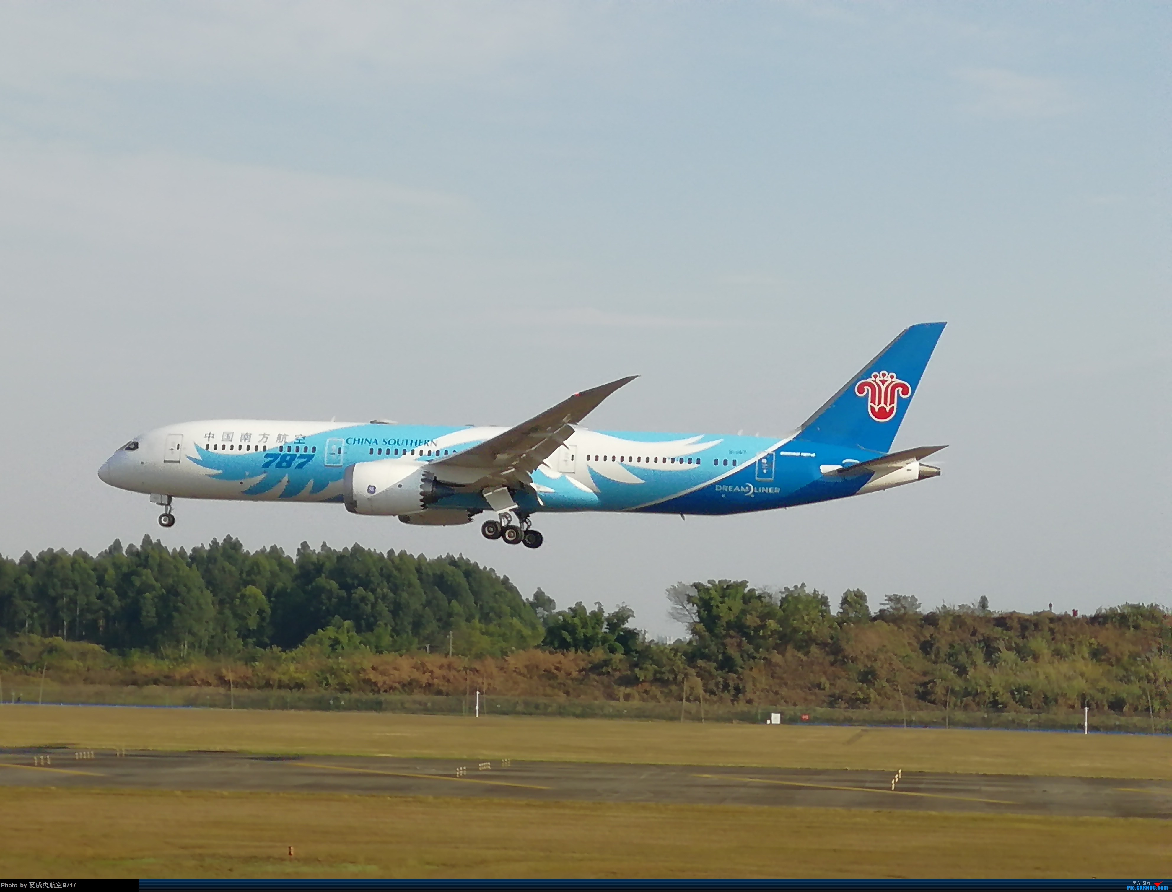 Re:[原创]CTU789南方航空公司 789 B1567 CTU