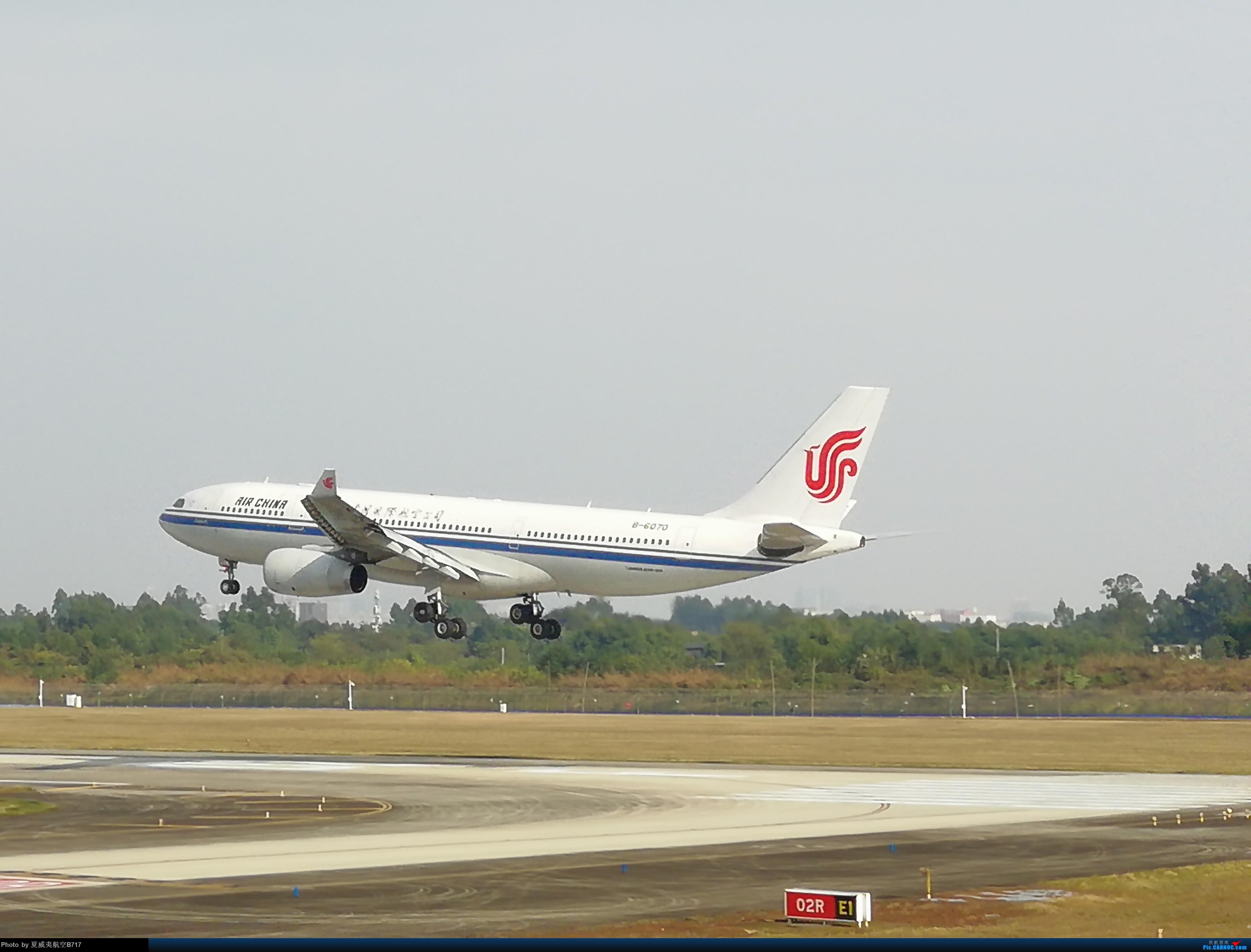 [原创]国航333降落 A330-200 B6070 CTU