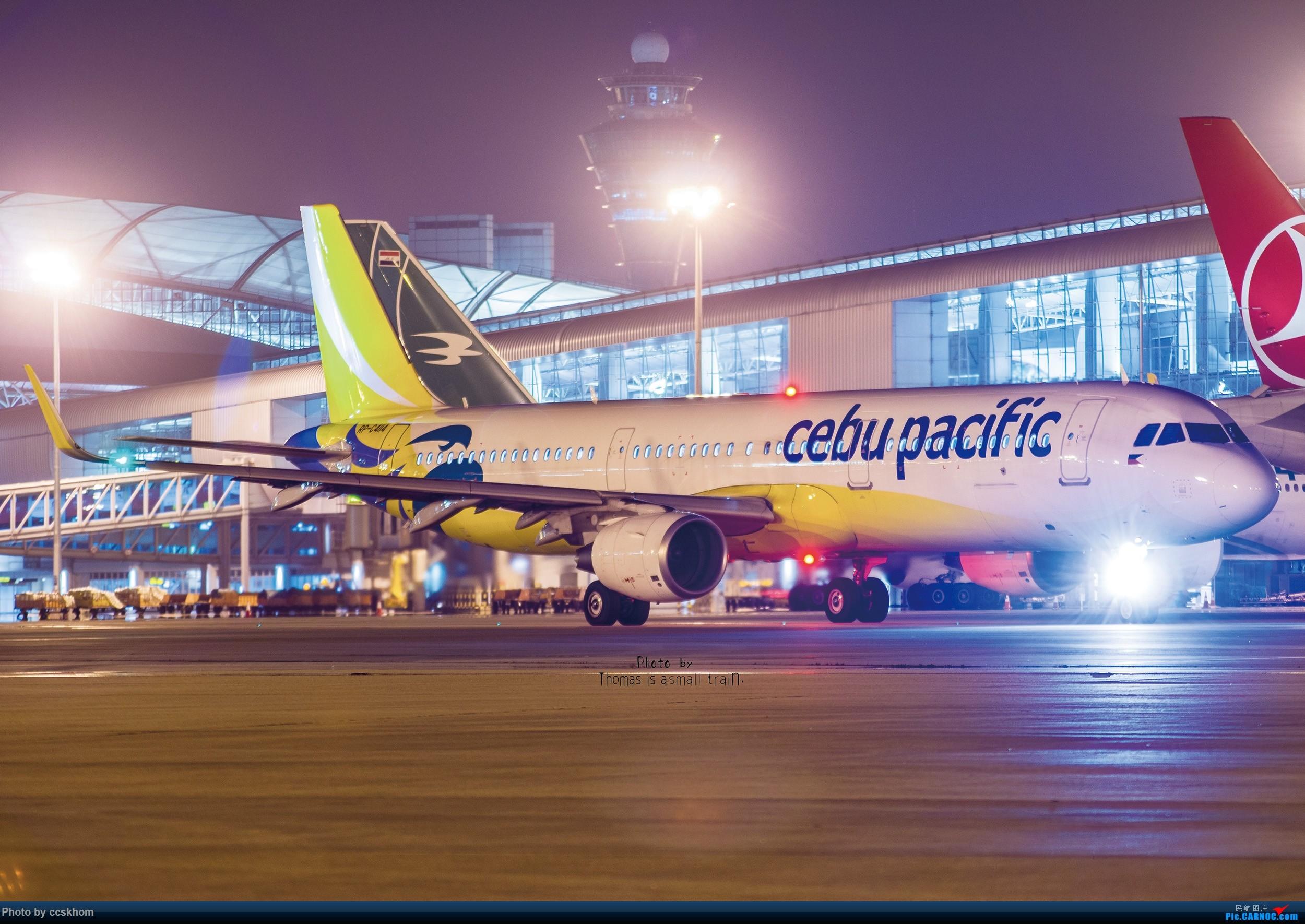 Re:【合肥飞友会.广州打机队】机坪夜拍宿务321 AIRBUS A321  中国广州白云国际机场