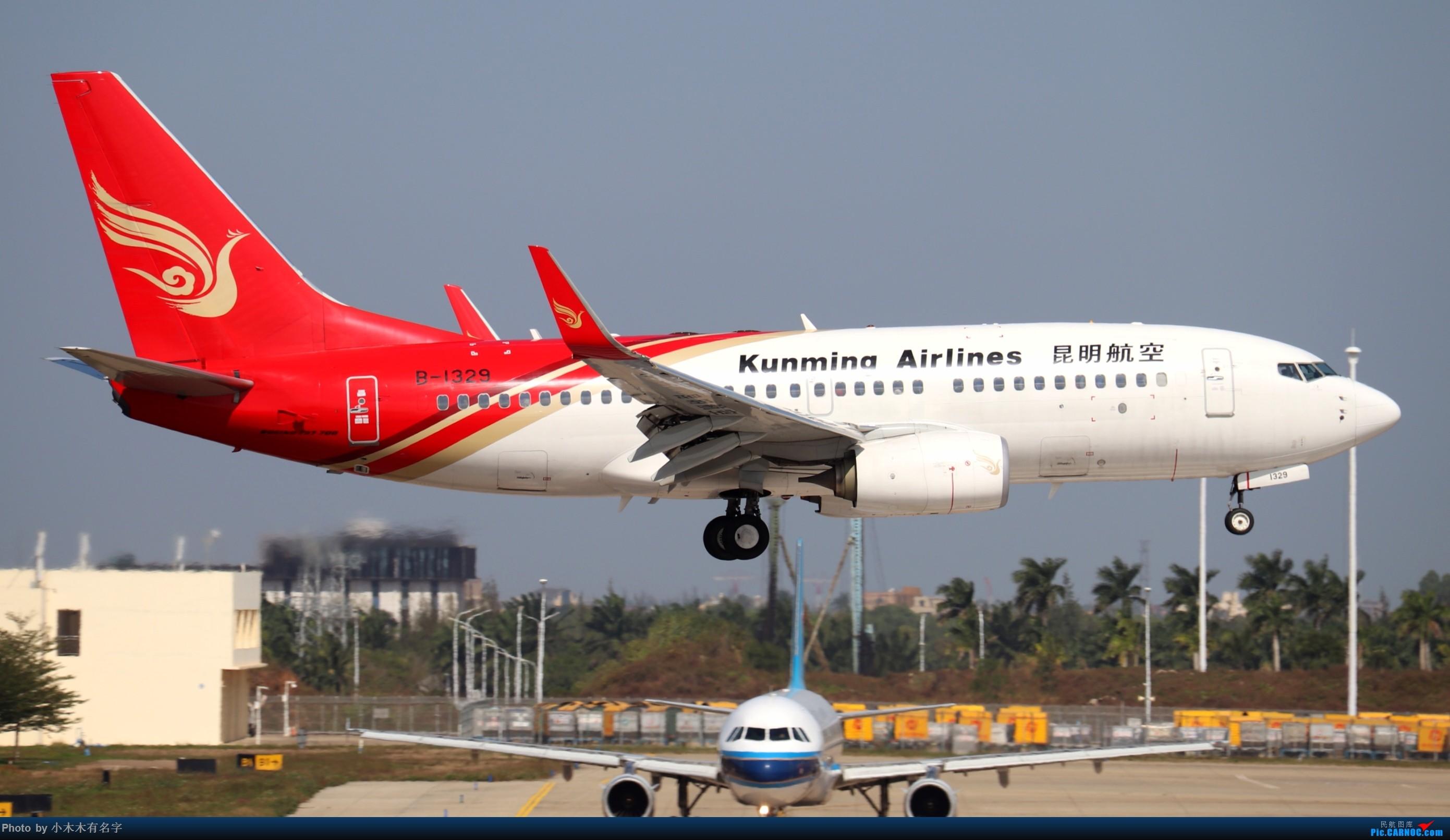 Re:[原创]2019冬天的海口美兰 BOEING 737-700 B-1329 中国海口美兰国际机场