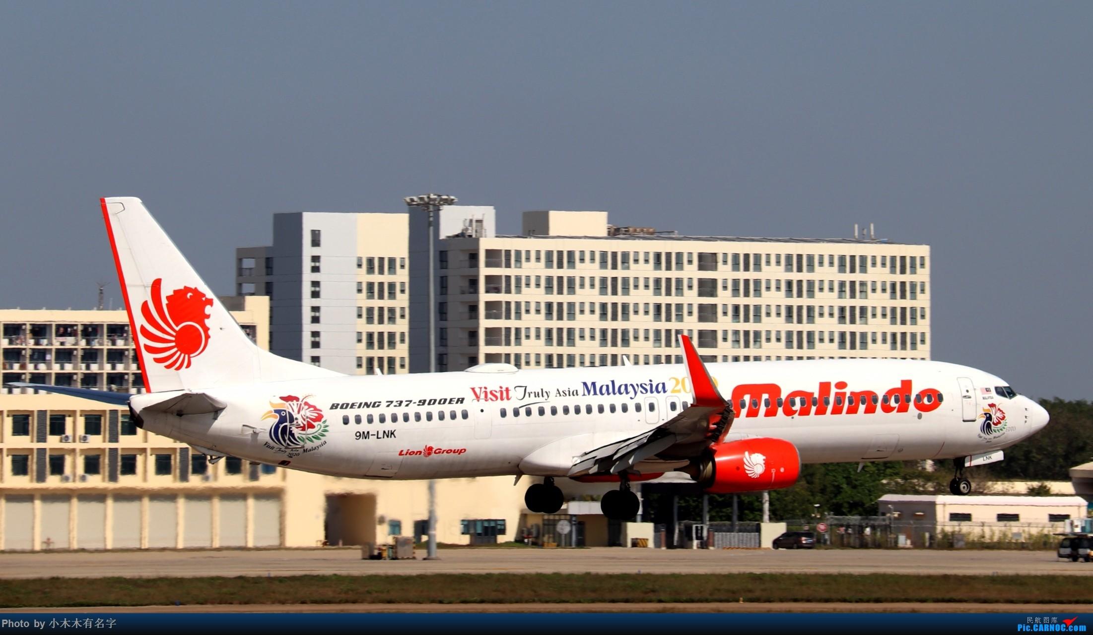 Re:[原创]2019冬天的海口美兰 BOEING 737-900ER 9M-LNK 中国海口美兰国际机场