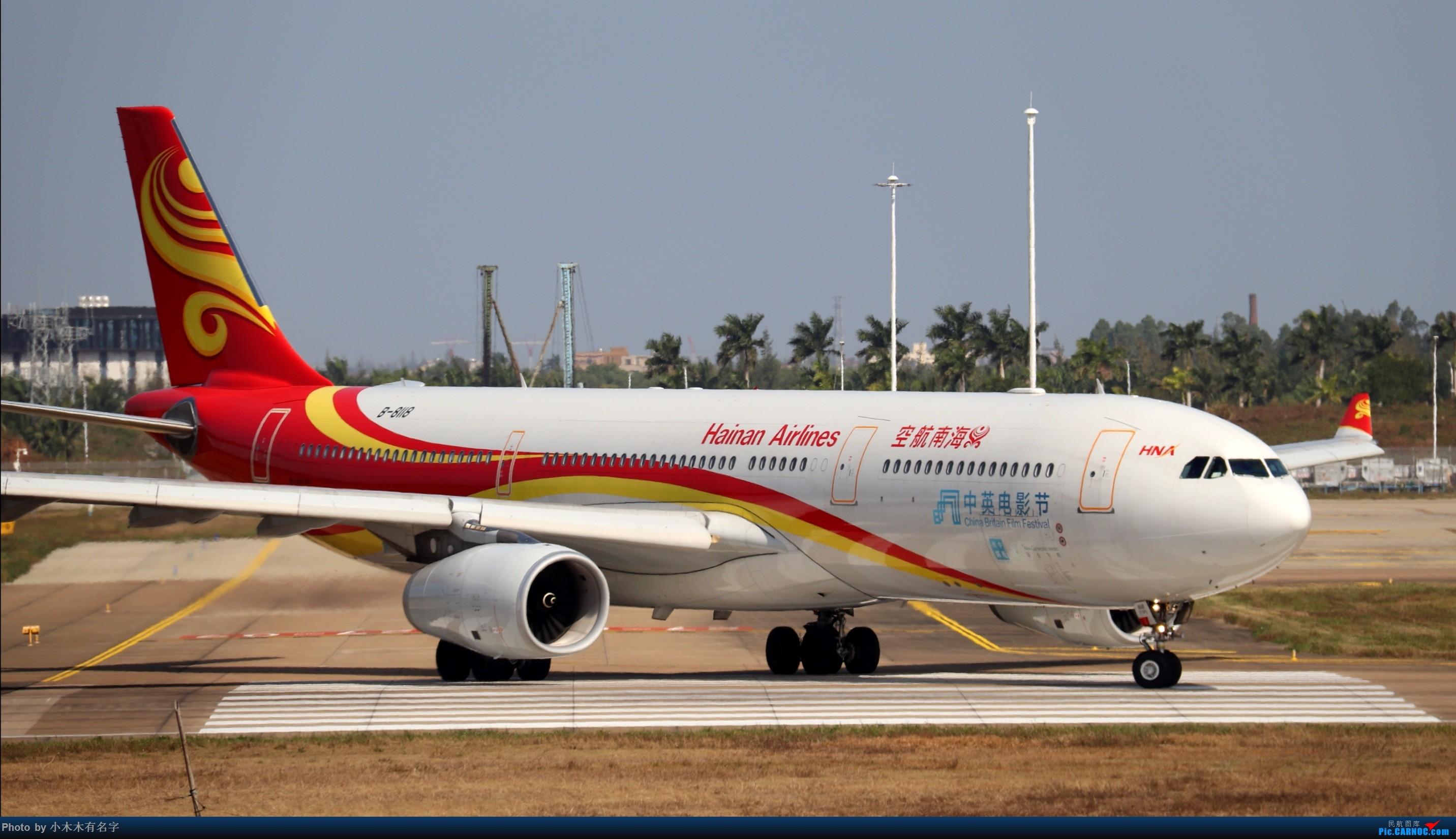 Re:[原创]2019冬天的海口美兰 AIRBUS A330-300 B-8118 中国海口美兰国际机场
