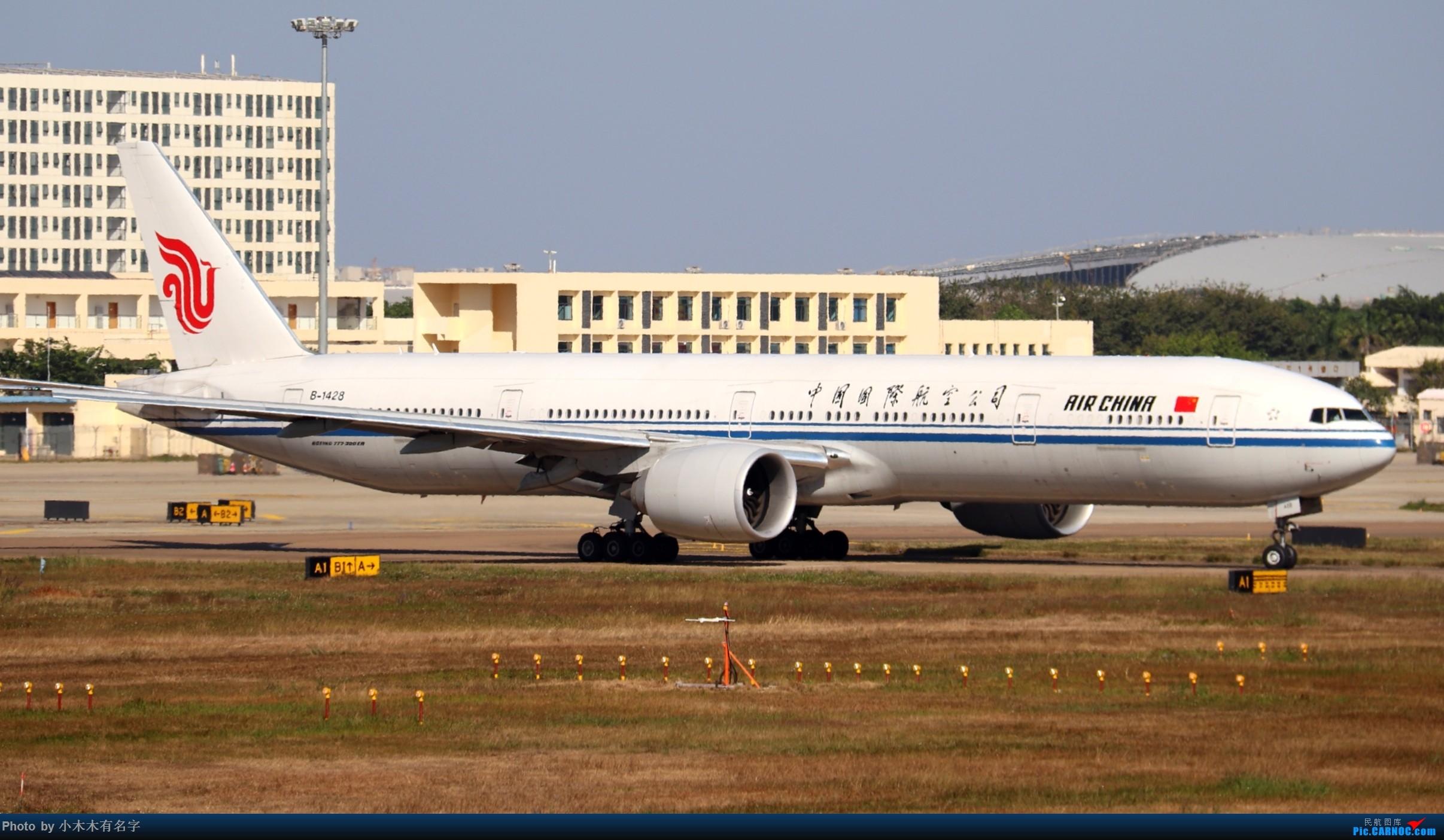 Re:[原创]2019冬天的海口美兰 BOEING 777-300ER B-1428 中国海口美兰国际机场