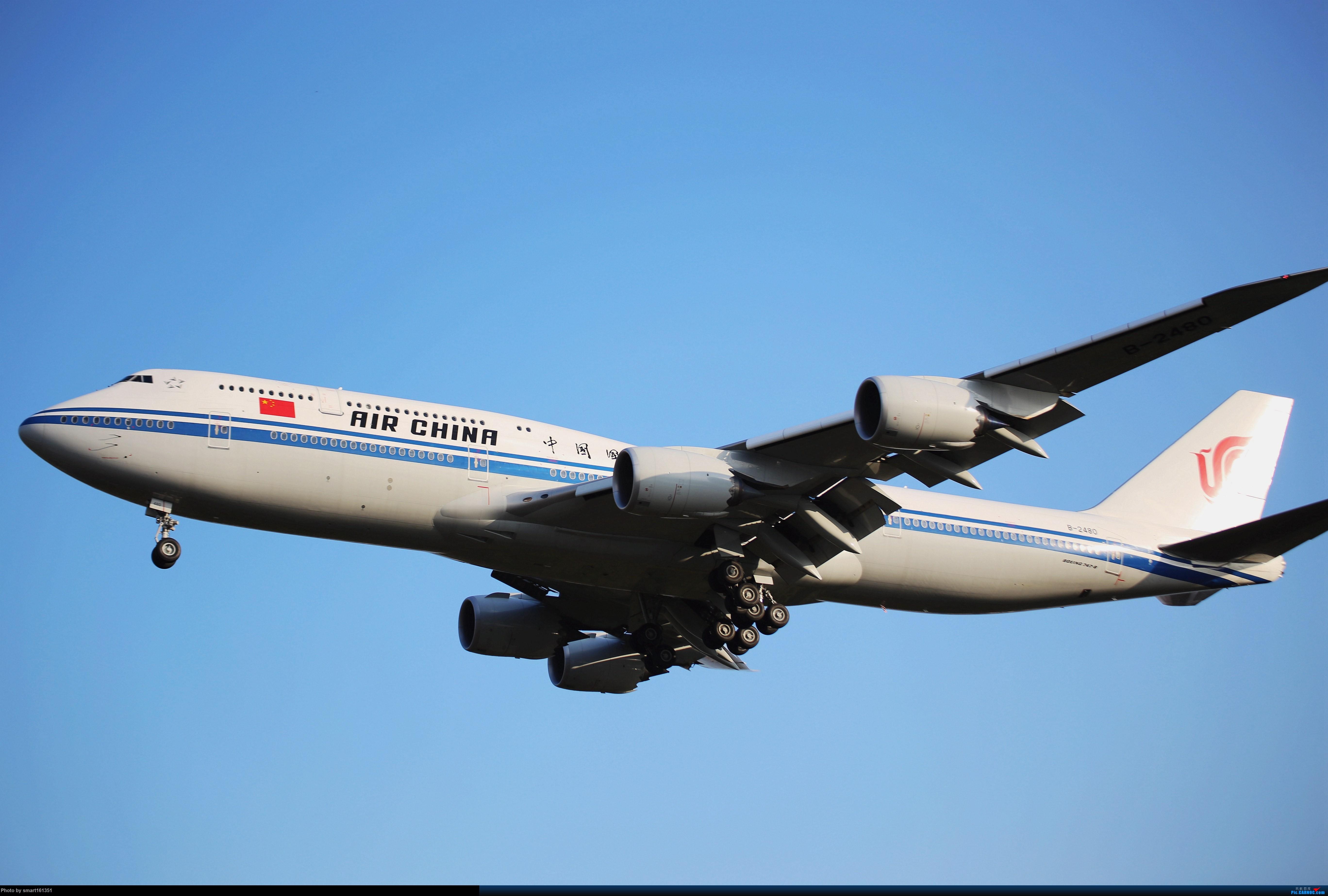 [原创]白云机场西跑试手 BOEING 747-8I B-2480 广州白云机场