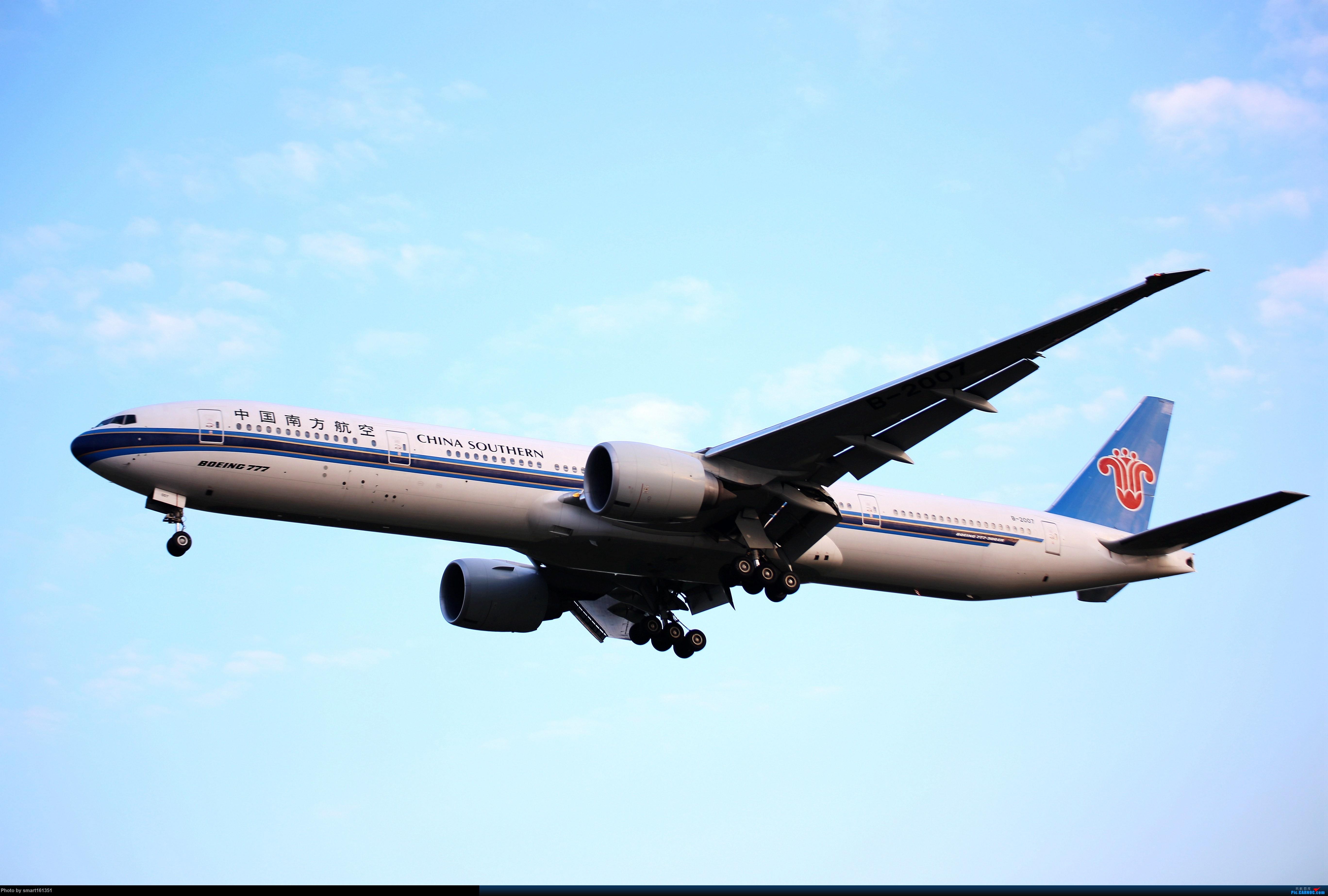 Re:[原创]白云机场西跑试手 BOEING 777-300ER B-2007 广州白云机场