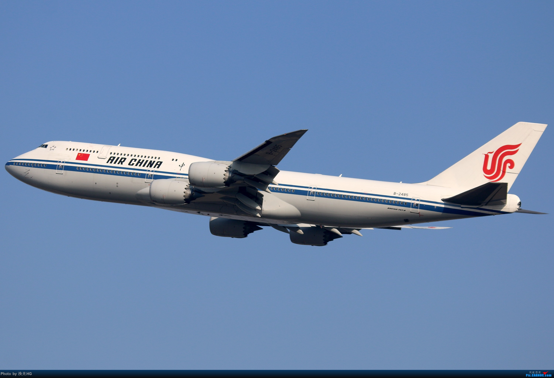 [原创]最近几次在虹桥的图 BOEING 747-8I B-2485 中国上海虹桥国际机场