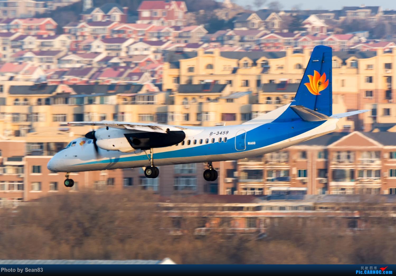 [原创]打卡大连周水子 XIAN AIRCRAFT MA 60 B-3459 中国大连国际机场