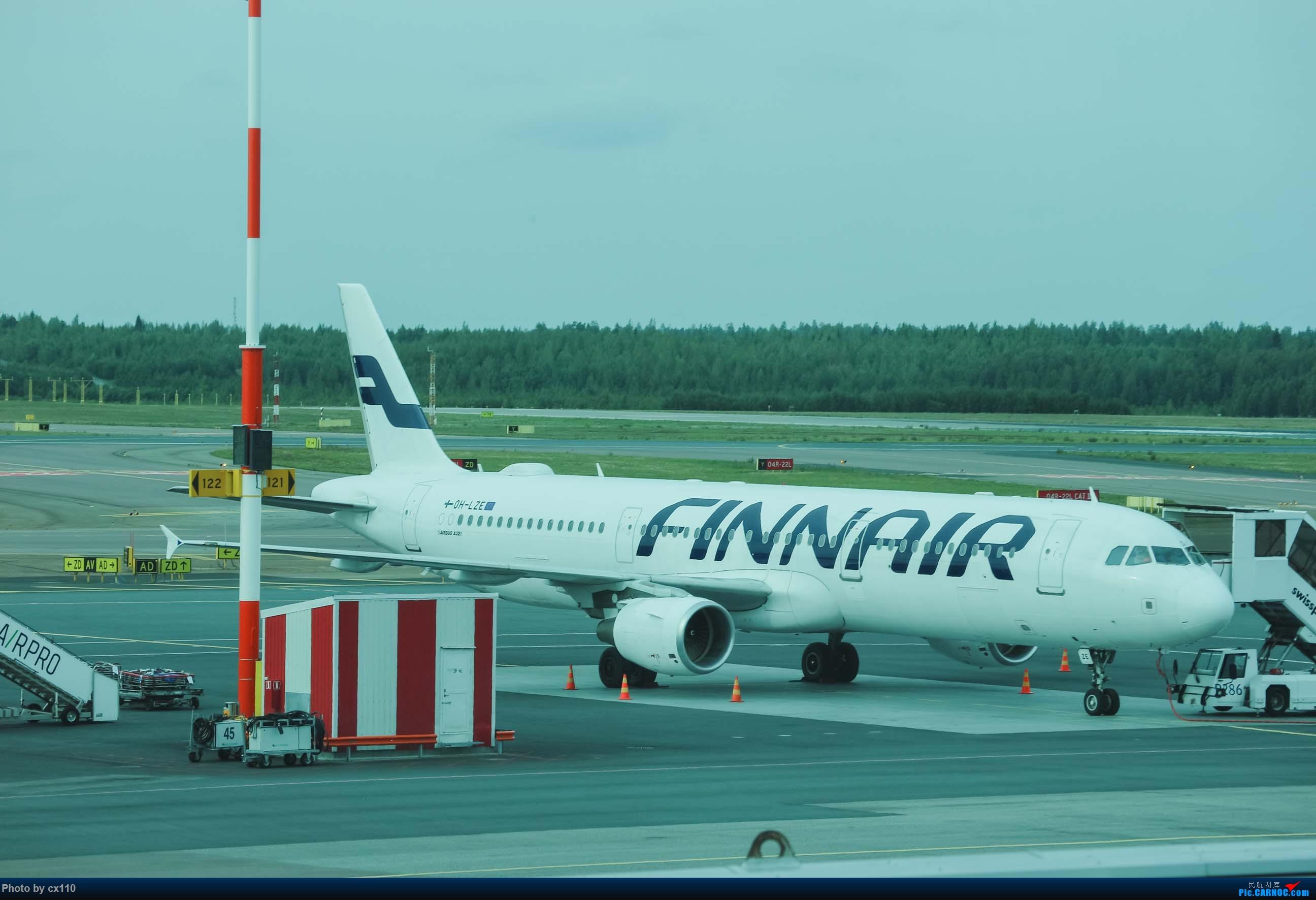 Re:[原创]欧洲机场拍机记-柏林/赫尔辛基/布拉格 AIRBUS A321 OH-LZE 芬兰赫尔辛基-万塔机场