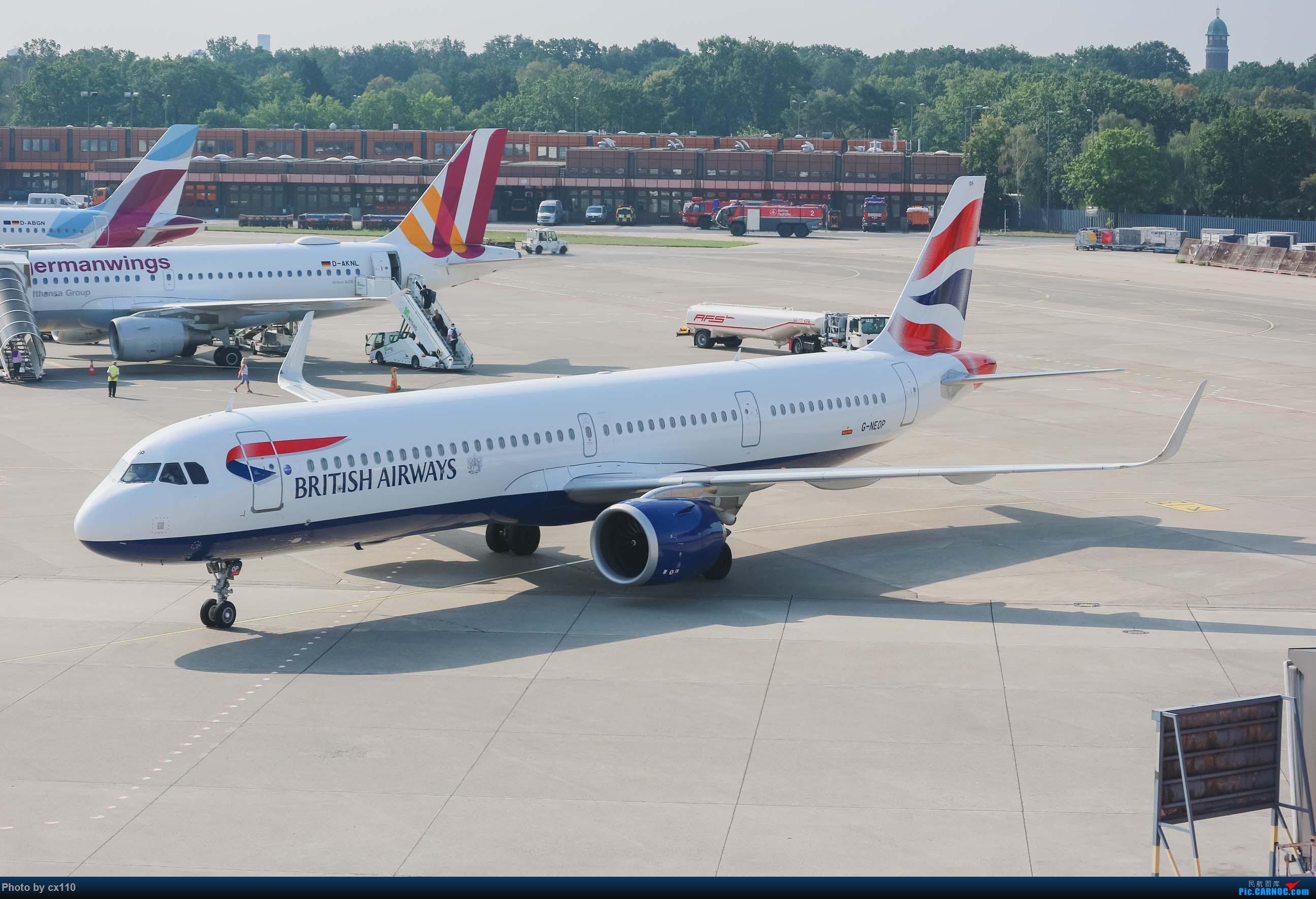 Re:[原创]欧洲机场拍机记-柏林/赫尔辛基/布拉格 AIRBUS A321-200 G-NEOP 德国柏林泰格尔机场