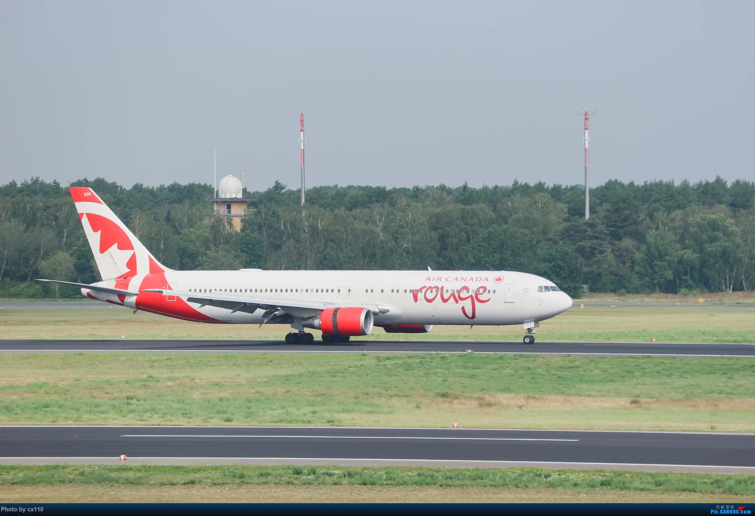 Re:[原创]欧洲机场拍机记-柏林/赫尔辛基/布拉格 BOEING 767-300ER C-FXCA 德国柏林泰格尔机场