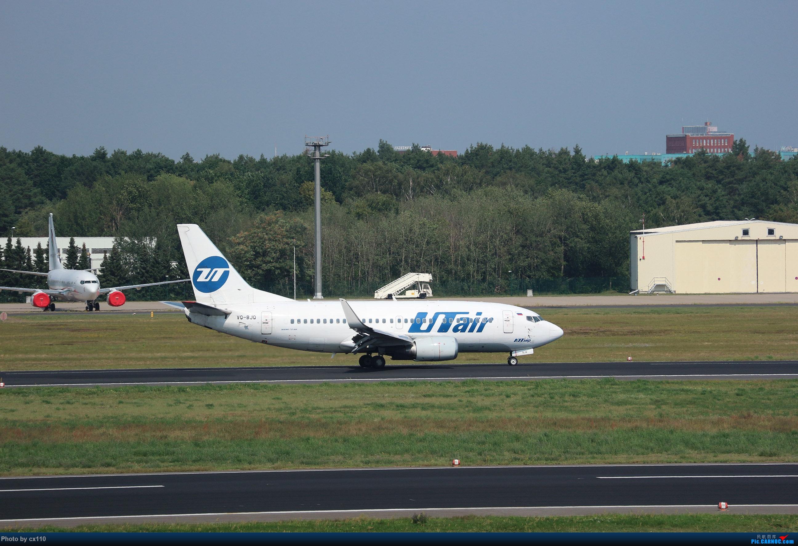 Re:[原创]欧洲机场拍机记-柏林/赫尔辛基/布拉格 BOEING 737-500 VQ-BJQ