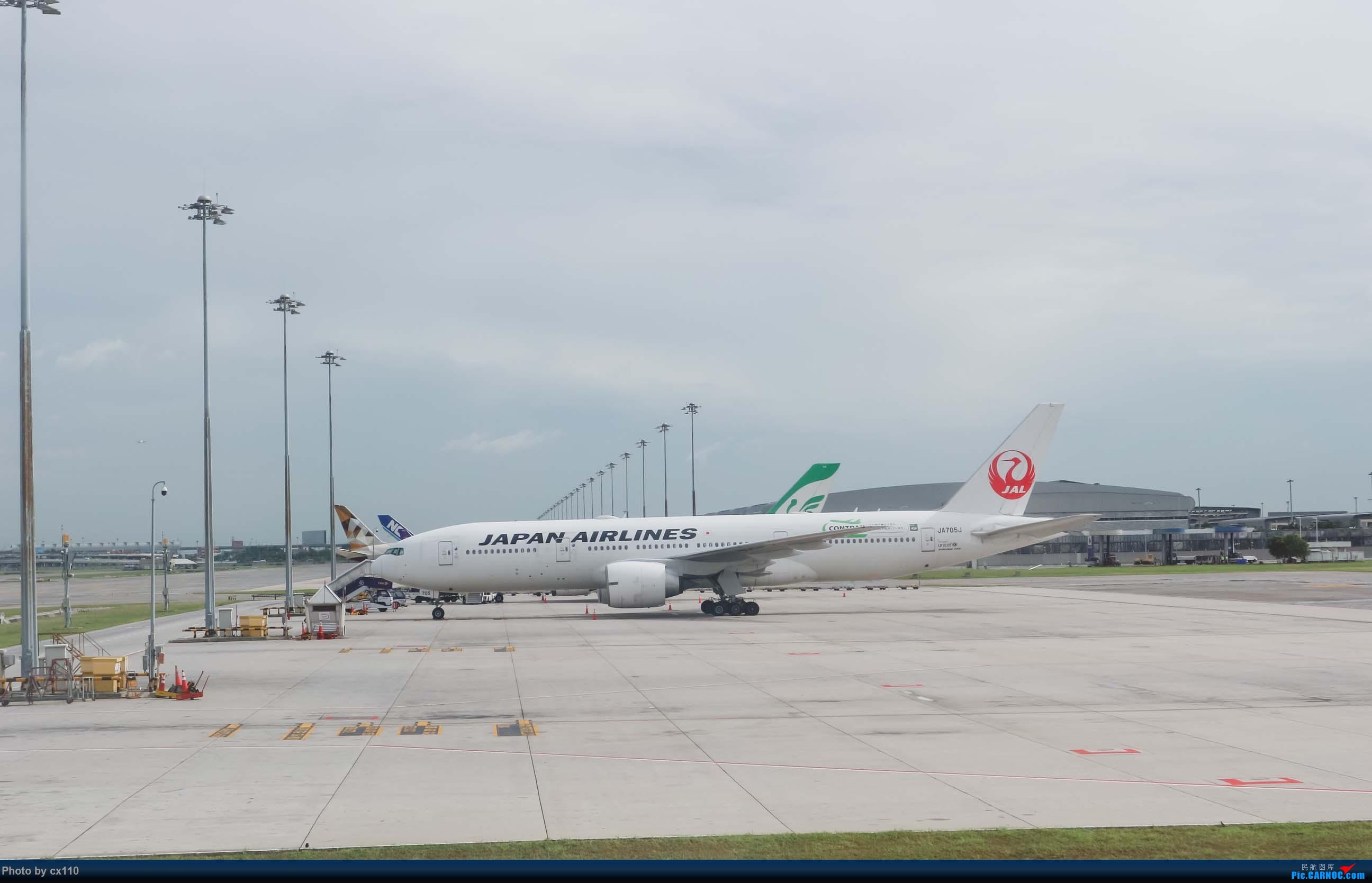 Re:[原创]欧洲机场拍机记-柏林/赫尔辛基/布拉格 BOEING 777-200 JA705J 泰国曼谷素万那普国际机场