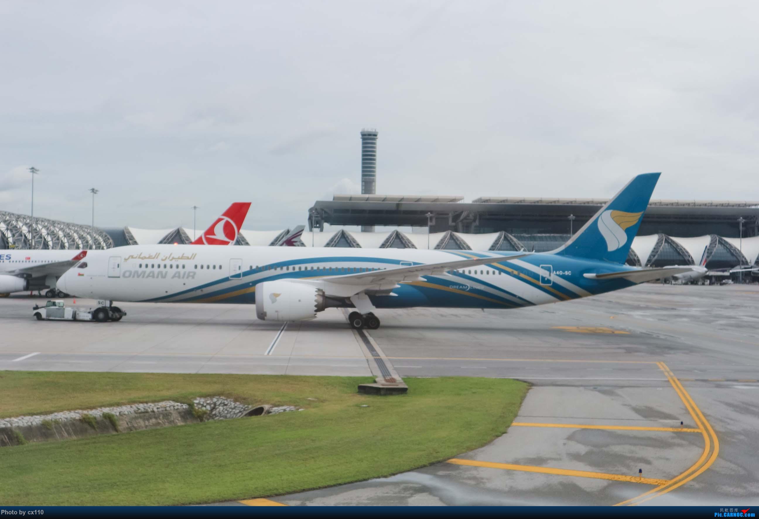 Re:[原创]欧洲机场拍机记-柏林/赫尔辛基/布拉格 BOEING 787-9 A4O-SC 泰国曼谷素万那普国际机场