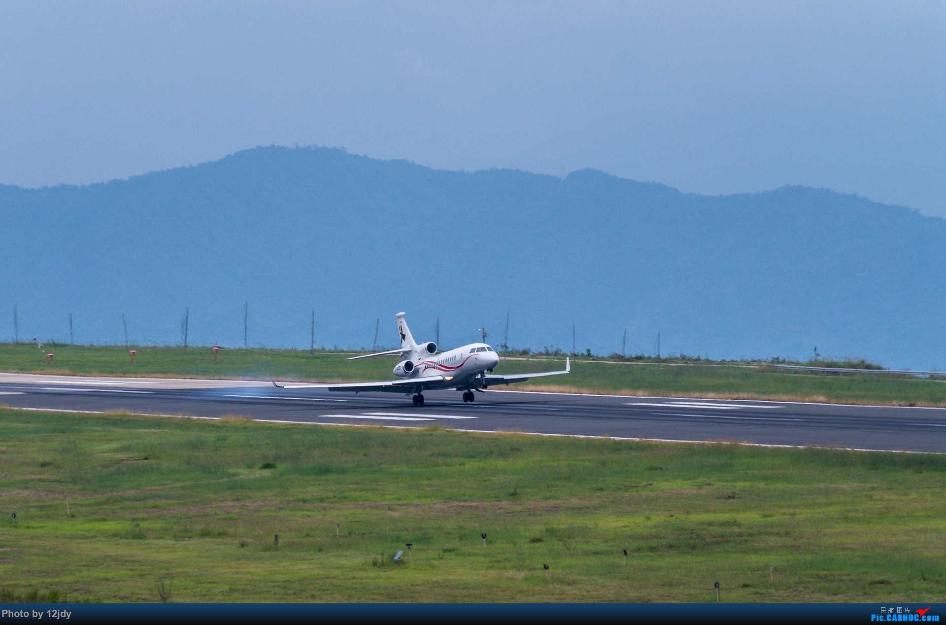Re:[原创]山顶顶高头的PZI DASSAULT FALCON 7X B-8823 中国攀枝花保安营机场