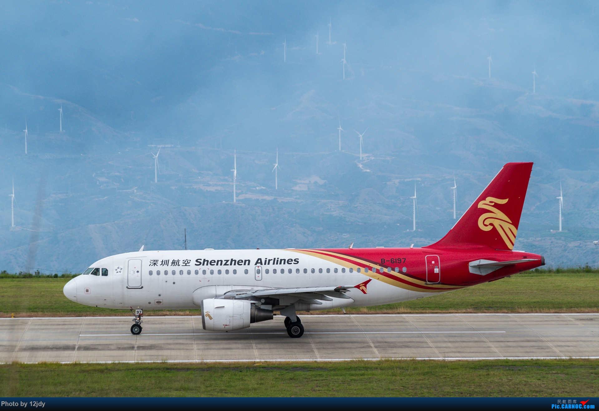 Re:[原创]山顶顶高头的PZI AIRBUS A319-100 B-6197 中国攀枝花保安营机场