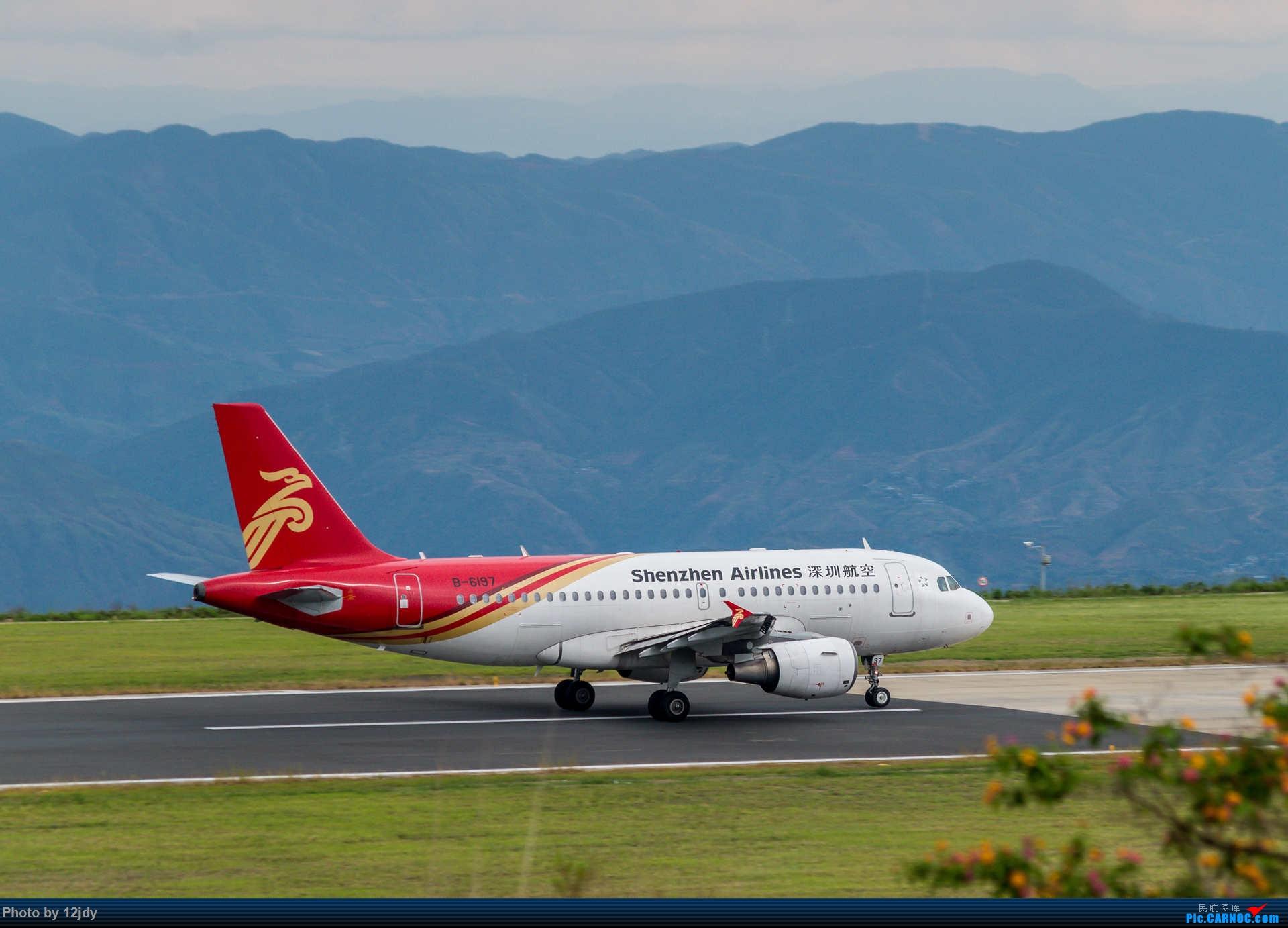 Re:山顶顶高头的PZI AIRBUS A319-100 B-6197 中国攀枝花保安营机场