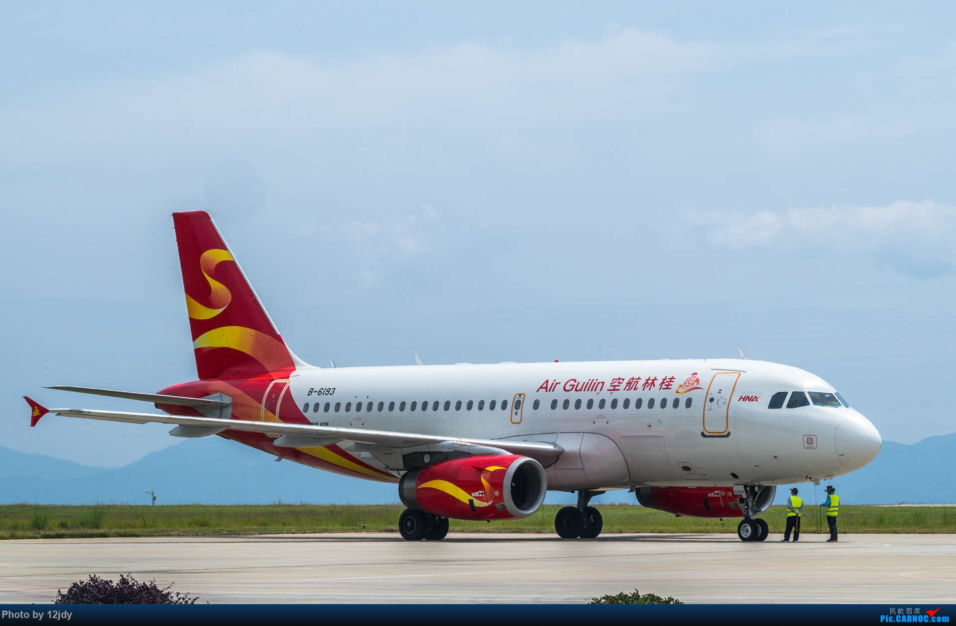 Re:[原创]山顶顶高头的PZI AIRBUS A319-100 B-6193 中国攀枝花保安营机场