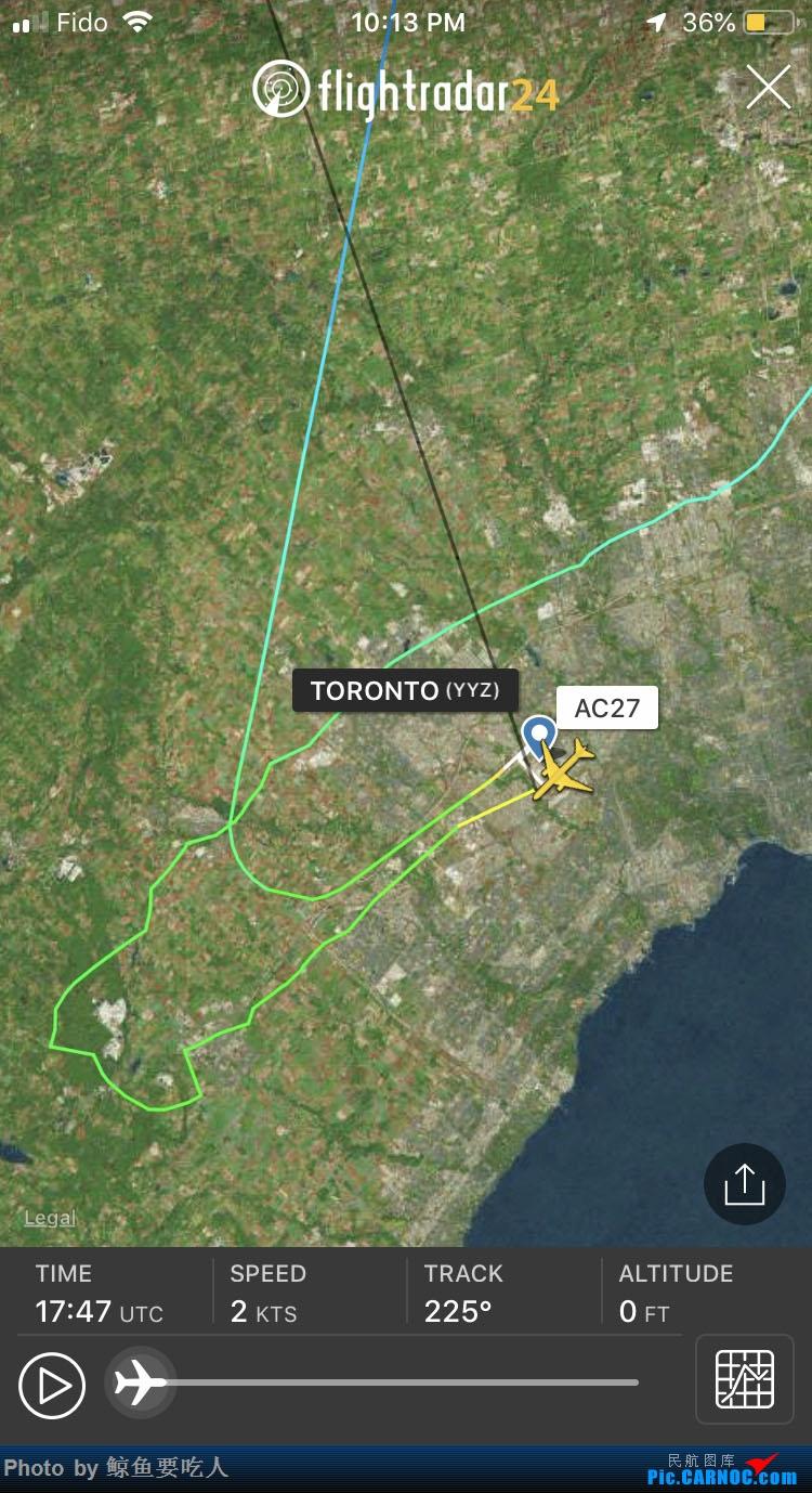 [讨论]加拿大航空AC27今天的航班怎么了?