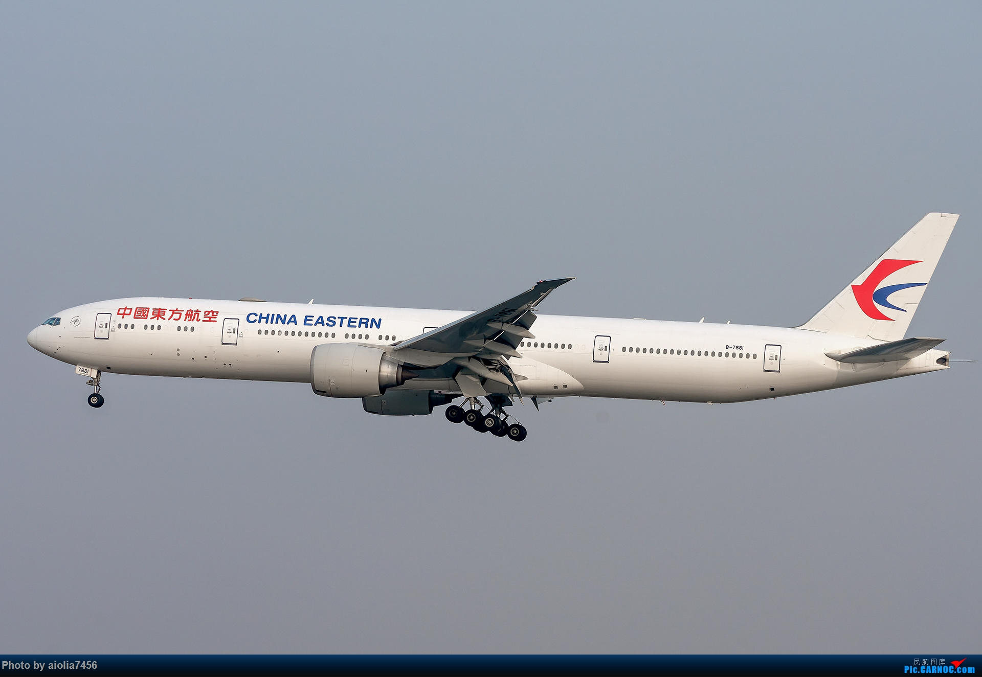 Re:[原创]【霸都打机队】上海培训时顺带虹桥扫货,结果遇到水泥天 BOEING 777-300ER B-7881 中国上海虹桥国际机场