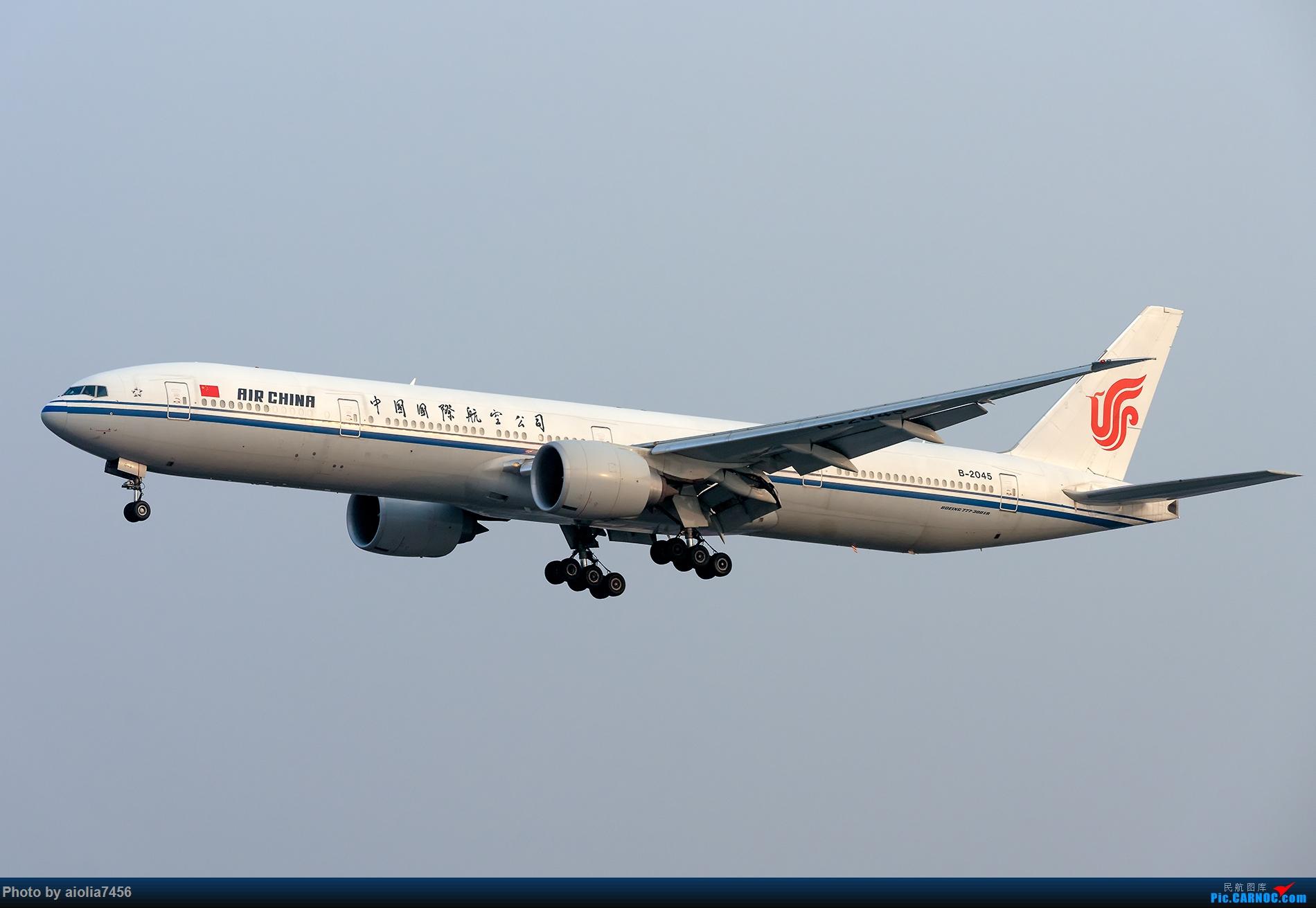 Re:[原创]【霸都打机队】上海培训时顺带虹桥扫货,结果遇到水泥天 BOEING 777-300ER B-2045 中国上海虹桥国际机场